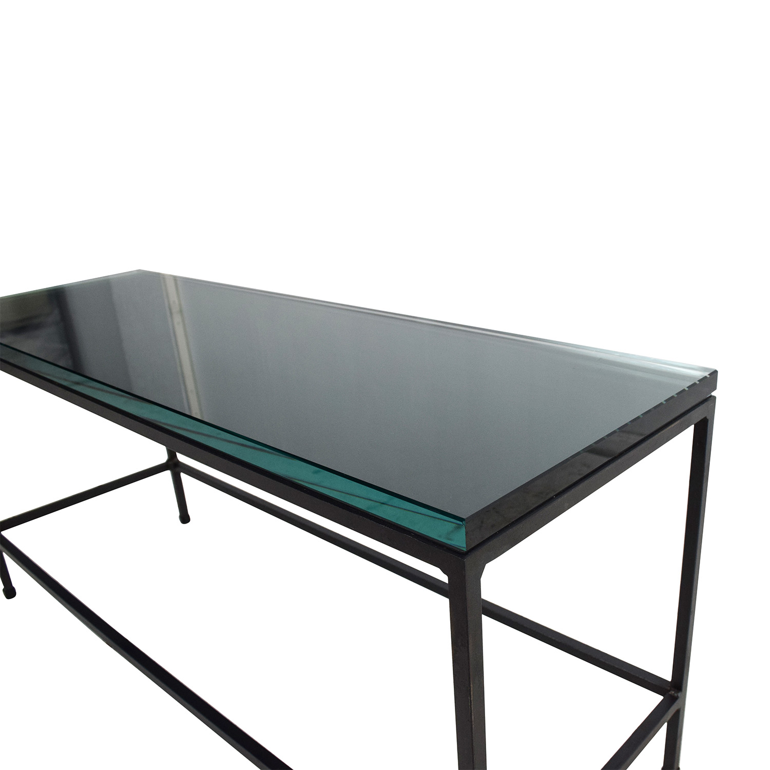 Glass Top Coffee Tables: CB2 CB2 Glass Top Coffee Table / Tables