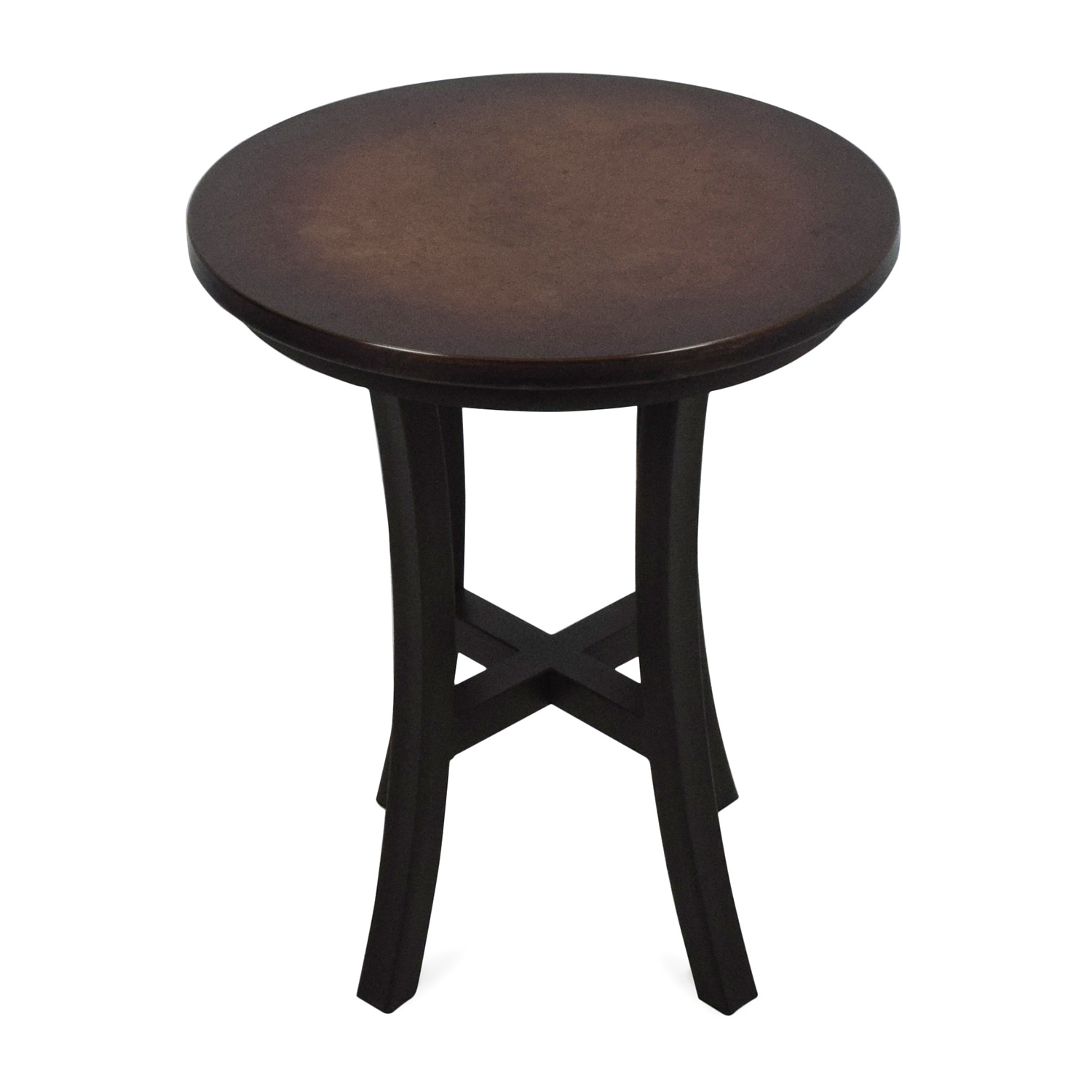 buy Crate & Barrel Copper Top Side Table Crate and Barrel Tables