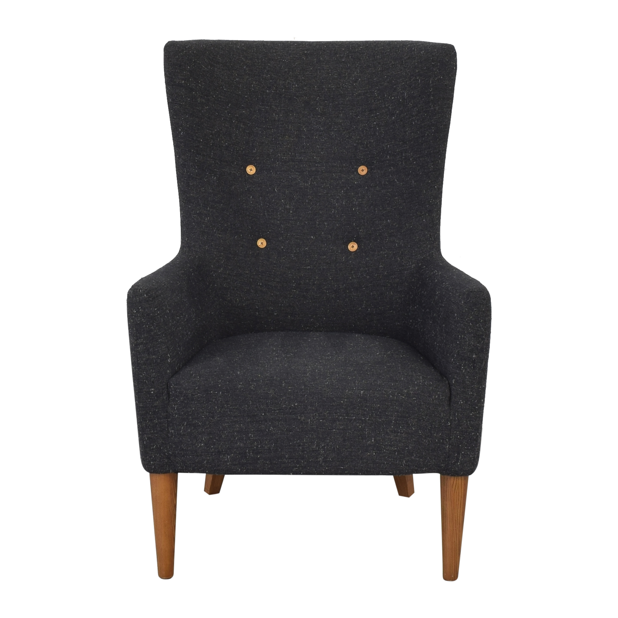 shop West Elm Mid Century Armchair West Elm Chairs