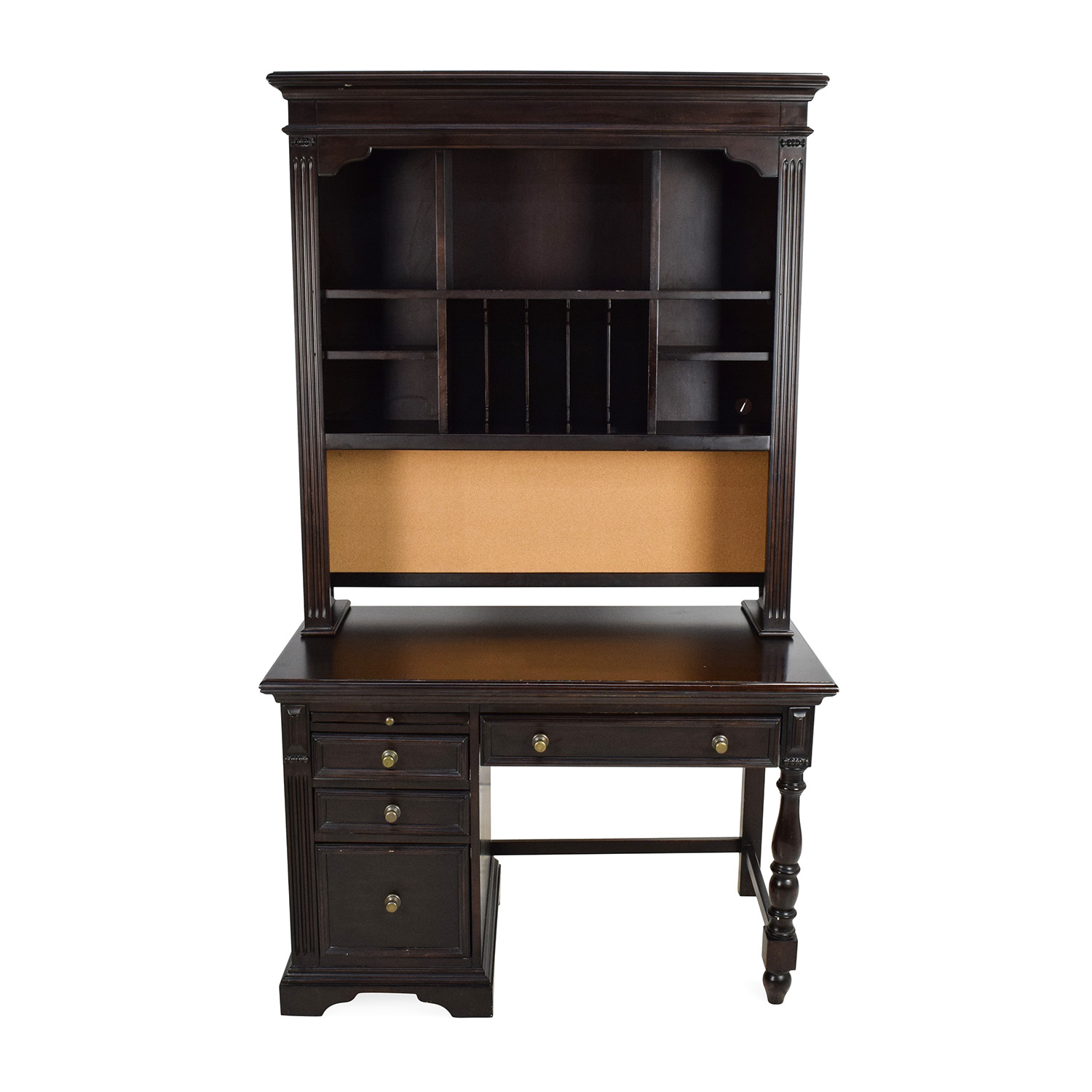buy Pulaski Solid Wood Desk with Hutch Pulaski Tables