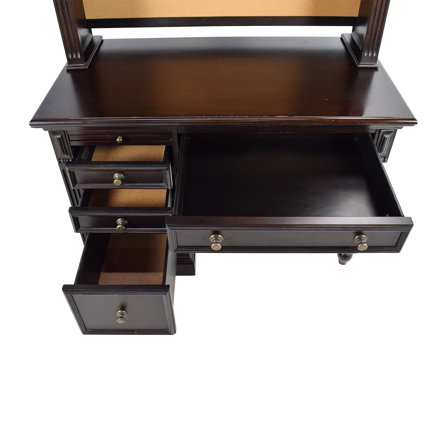 Solid wood office desk brilliant 25 handmade desk for Office desk design inspiration