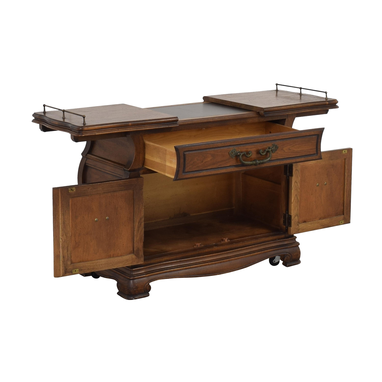 shop Vanleigh Expandable Bar Tabl Vanleigh Furniture Utility Tables