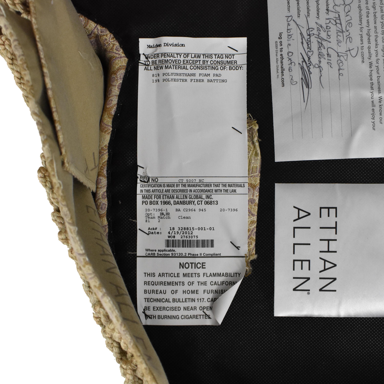Ethan Allen Ethan Allen Tufted Ottoman price
