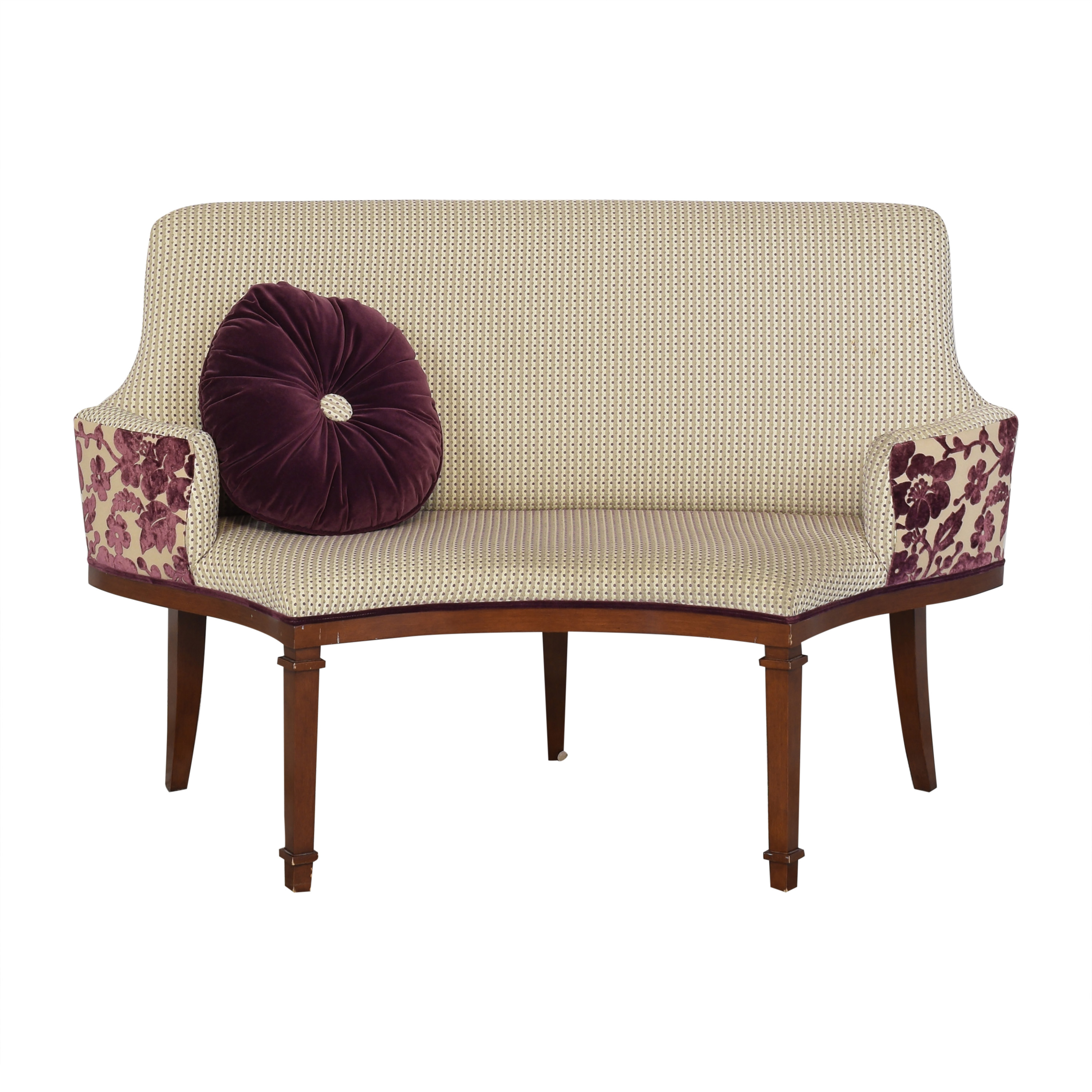 Artistic Frame Curved Banquette / Sofas