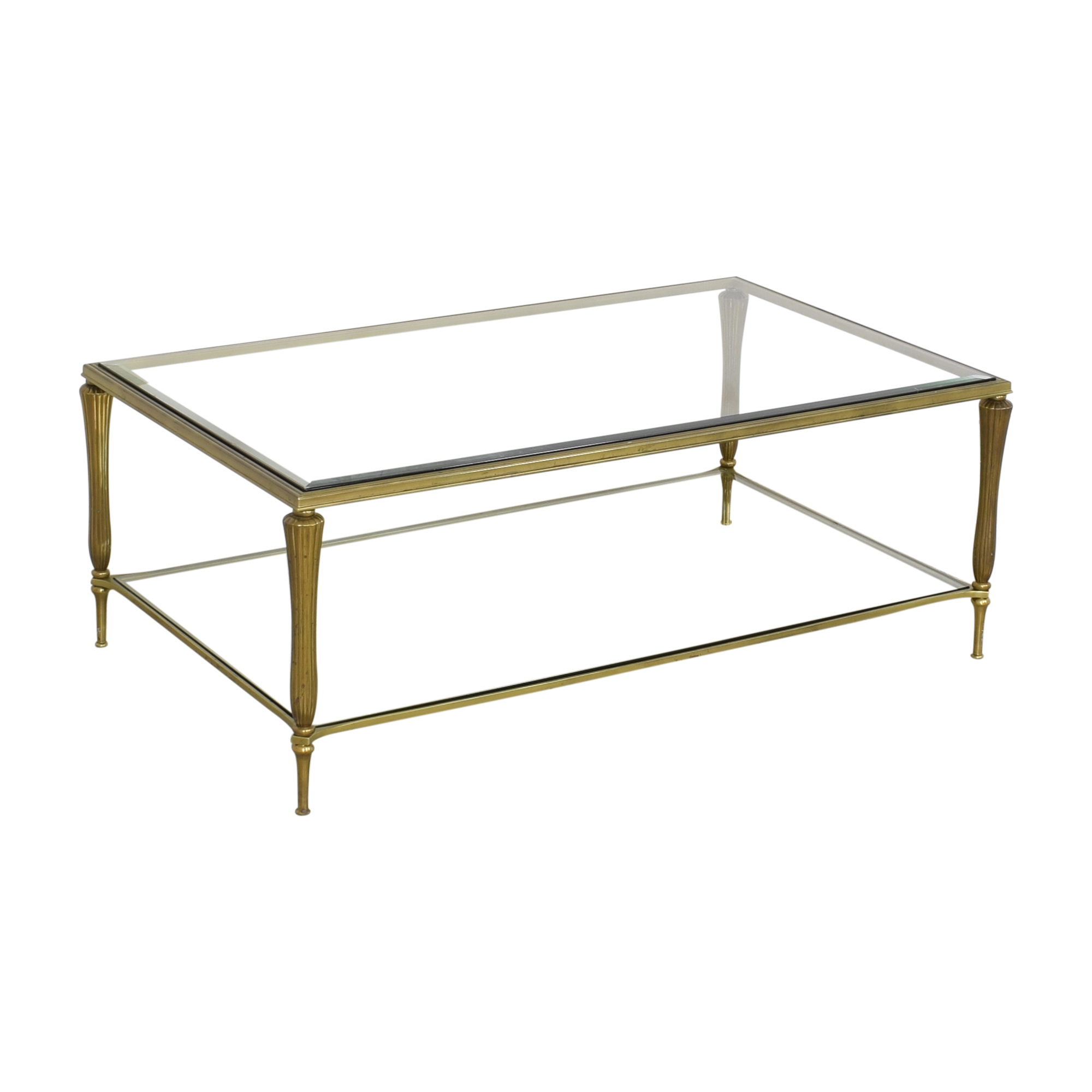 Ethan Allen Ethan Allen Two Tier Coffee Table on sale