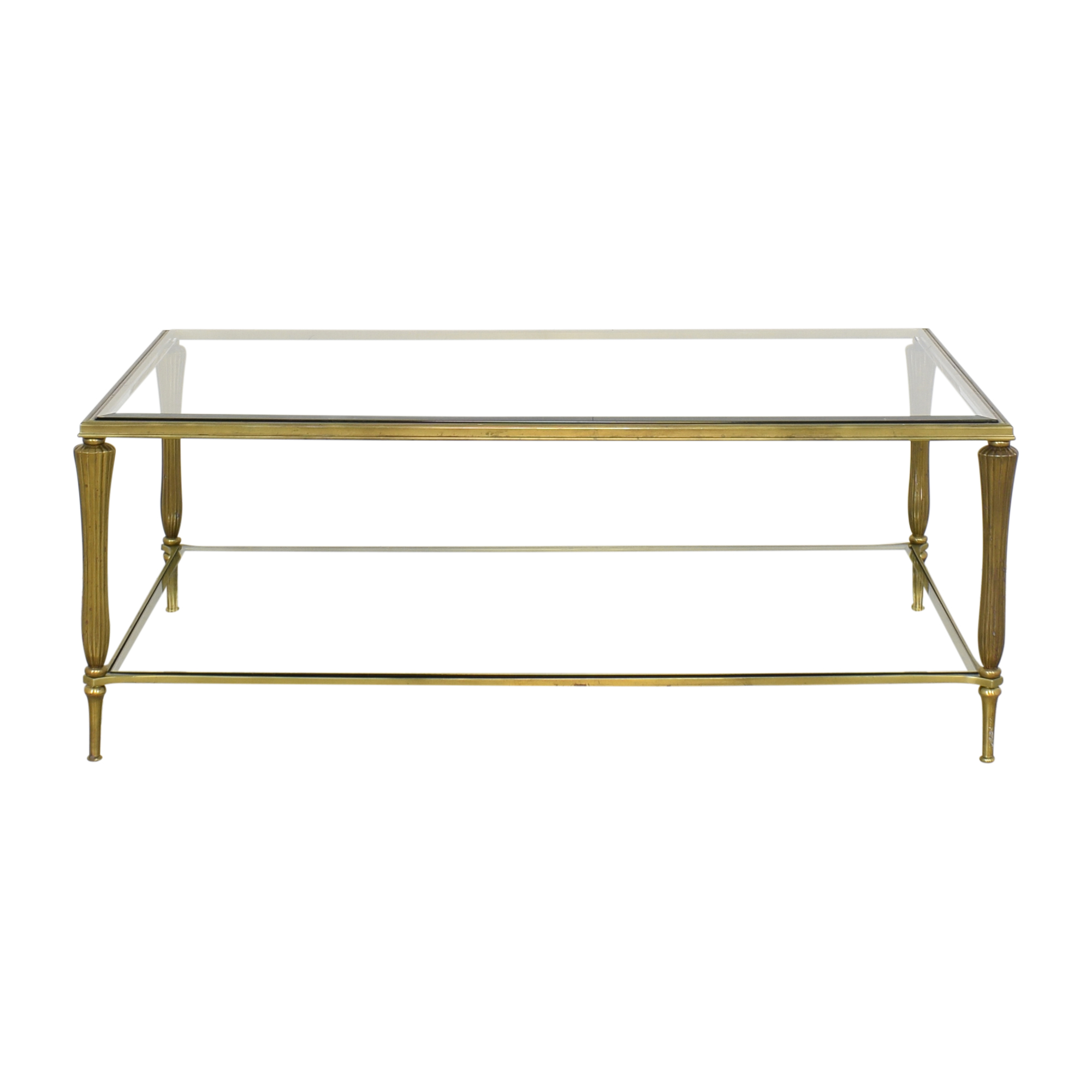Ethan Allen Ethan Allen Two Tier Coffee Table dimensions