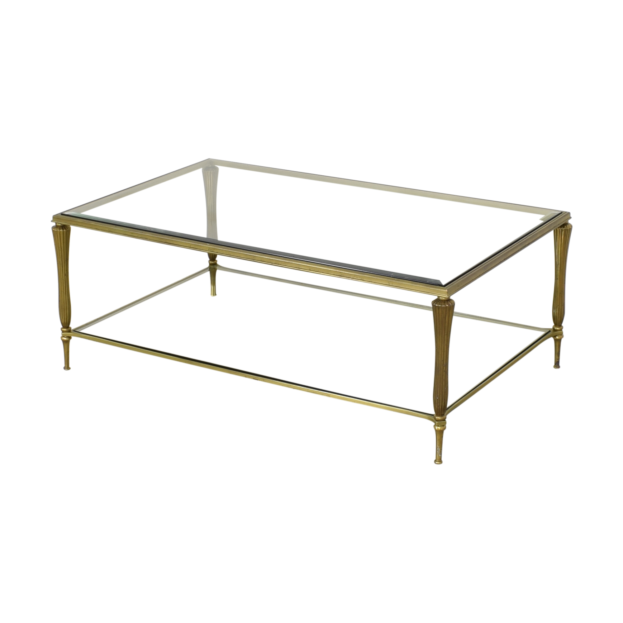 buy Ethan Allen Two Tier Coffee Table Ethan Allen Tables