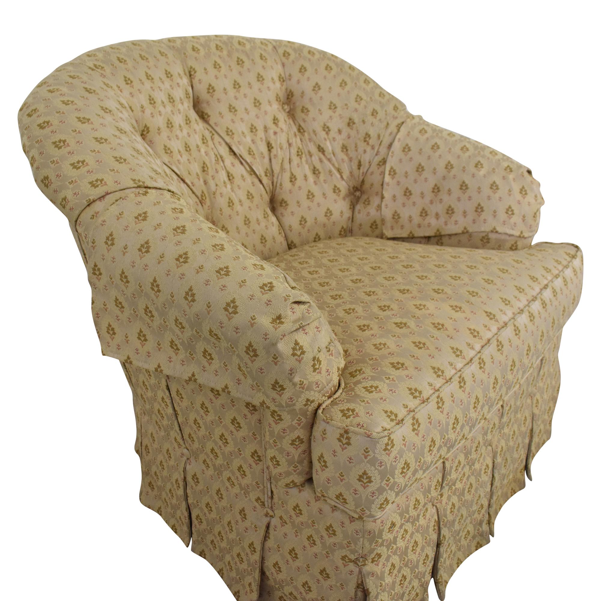 shop Ethan Allen Ethan Allen Skirted Swivel Chair online