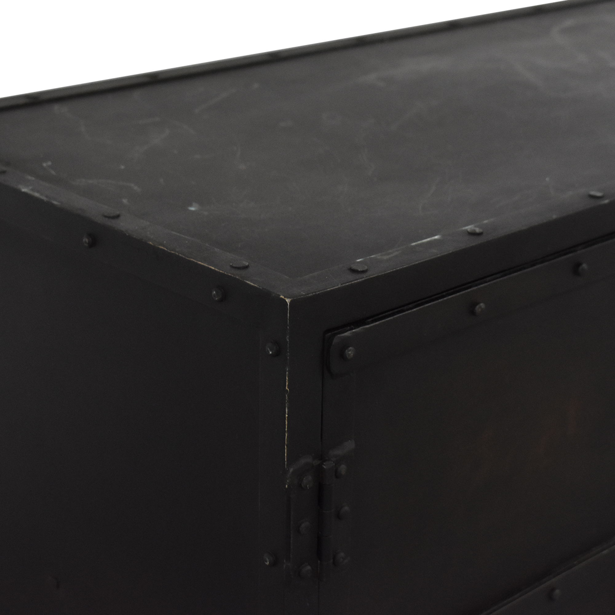 Restoration Hardware Restoration Hardware Industrial Tool Chest Sideboard dimensions