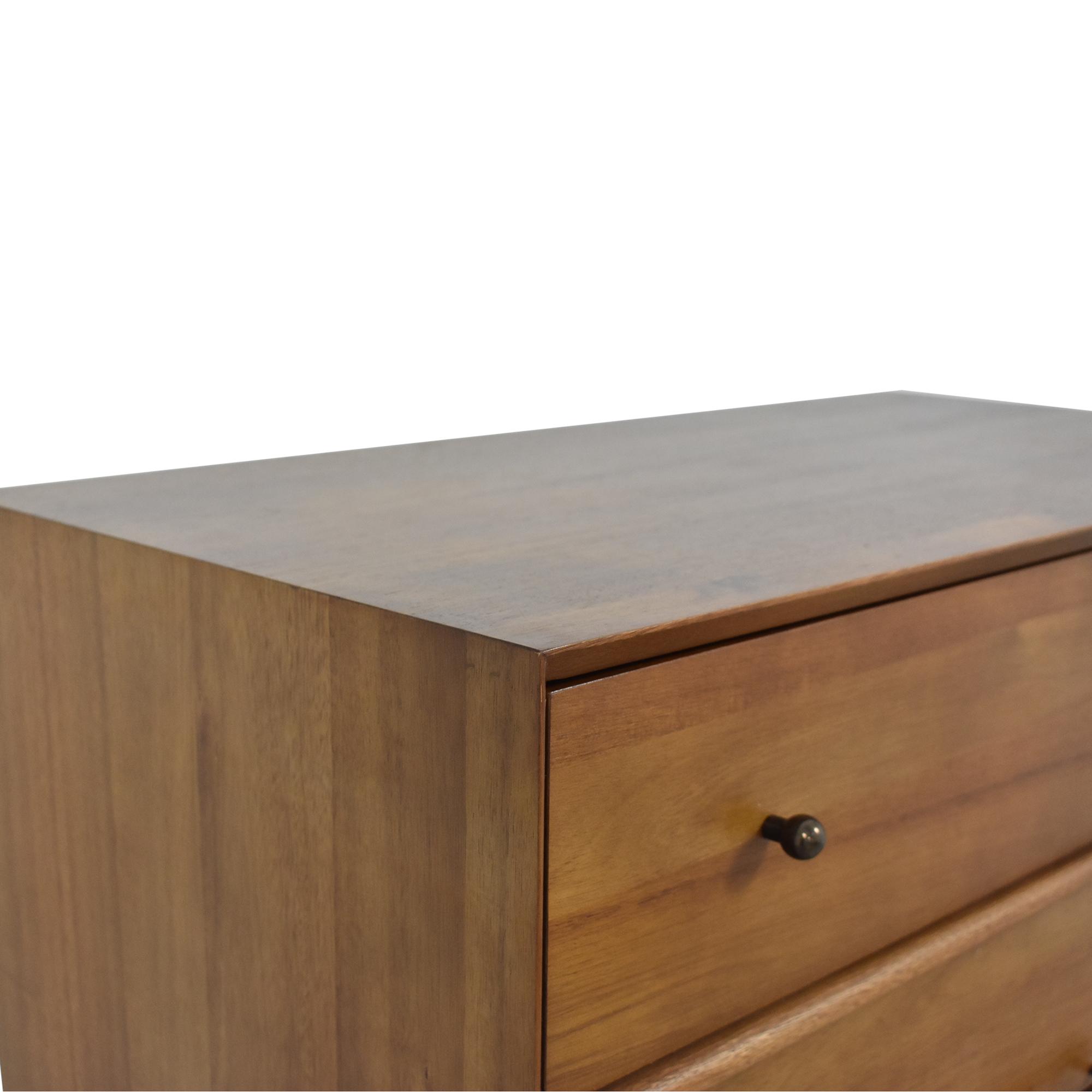 shop West Elm Mid Century Modern 5-Drawer Dresser West Elm Storage