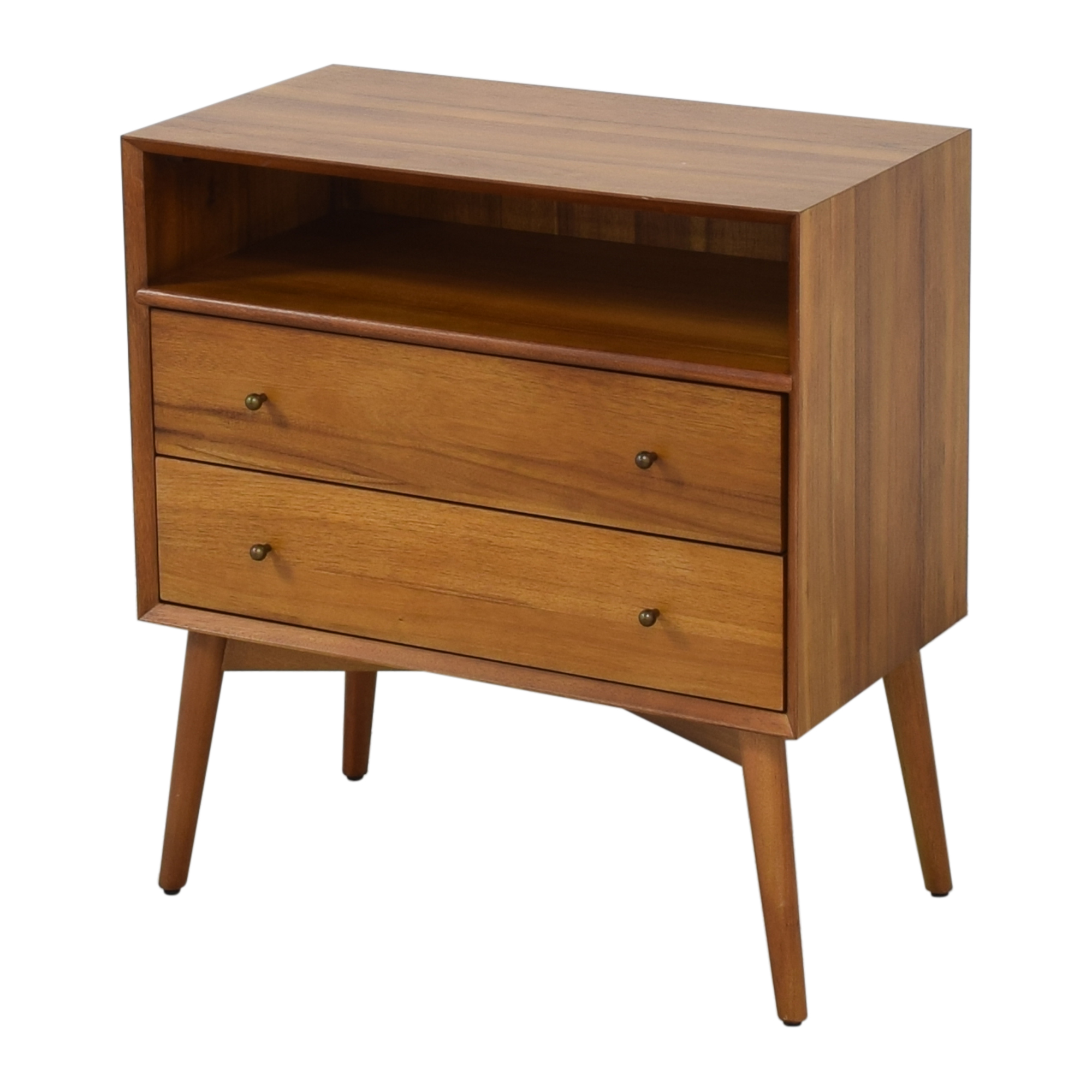 West Elm West Elm Mid Century Grand Night Stand for sale