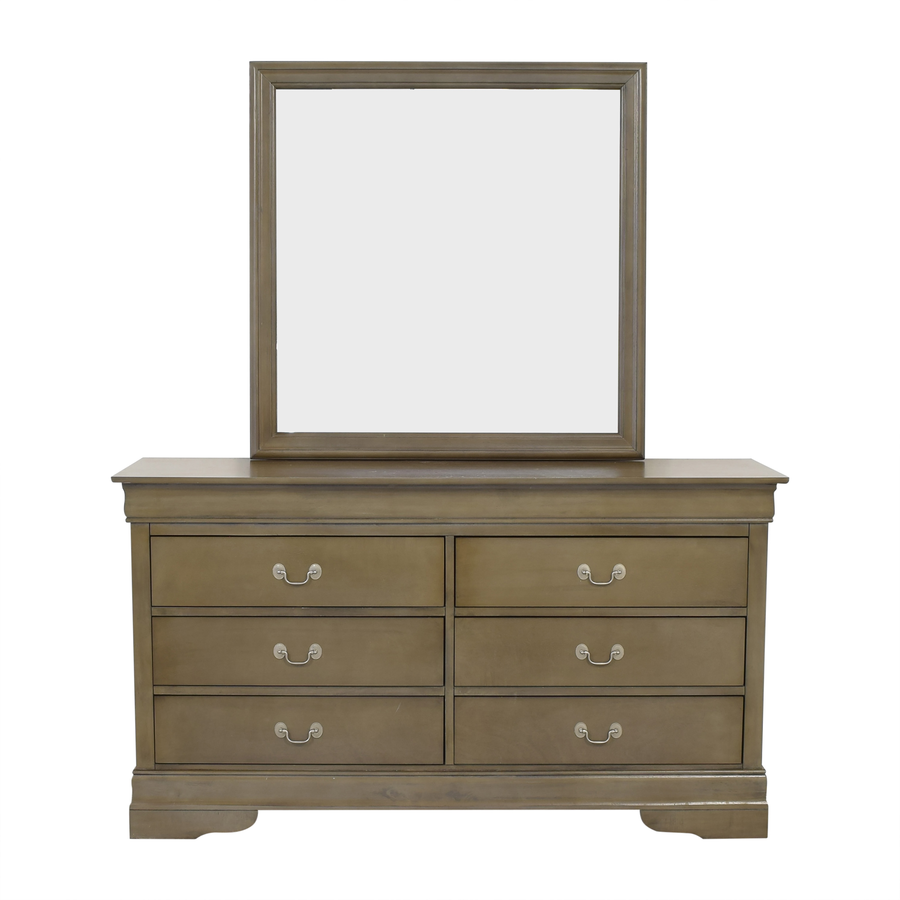 buy  Six Drawer Dresser with Mirror online