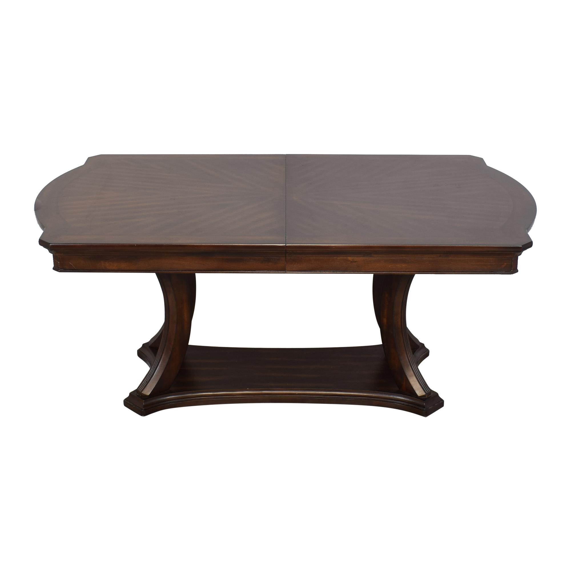 shop Pedestal Base Extendable Dining Table  Tables