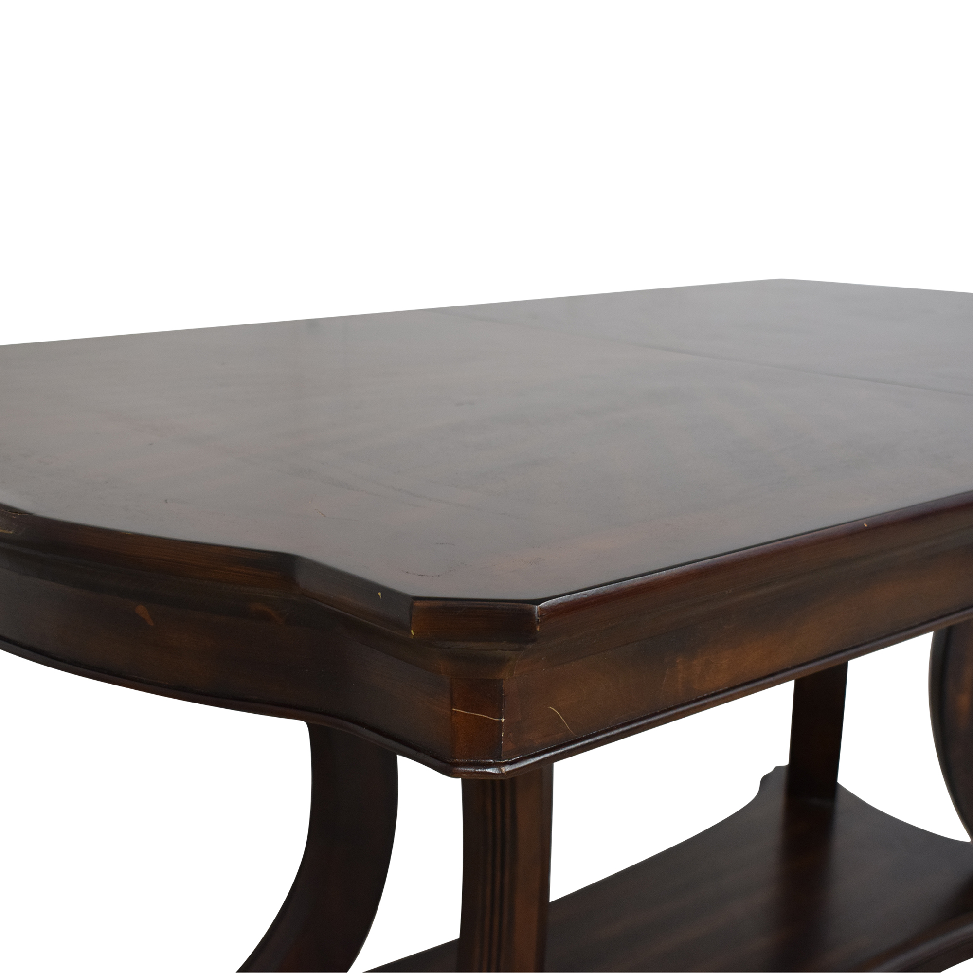 Pedestal Base Extendable Dining Table dimensions