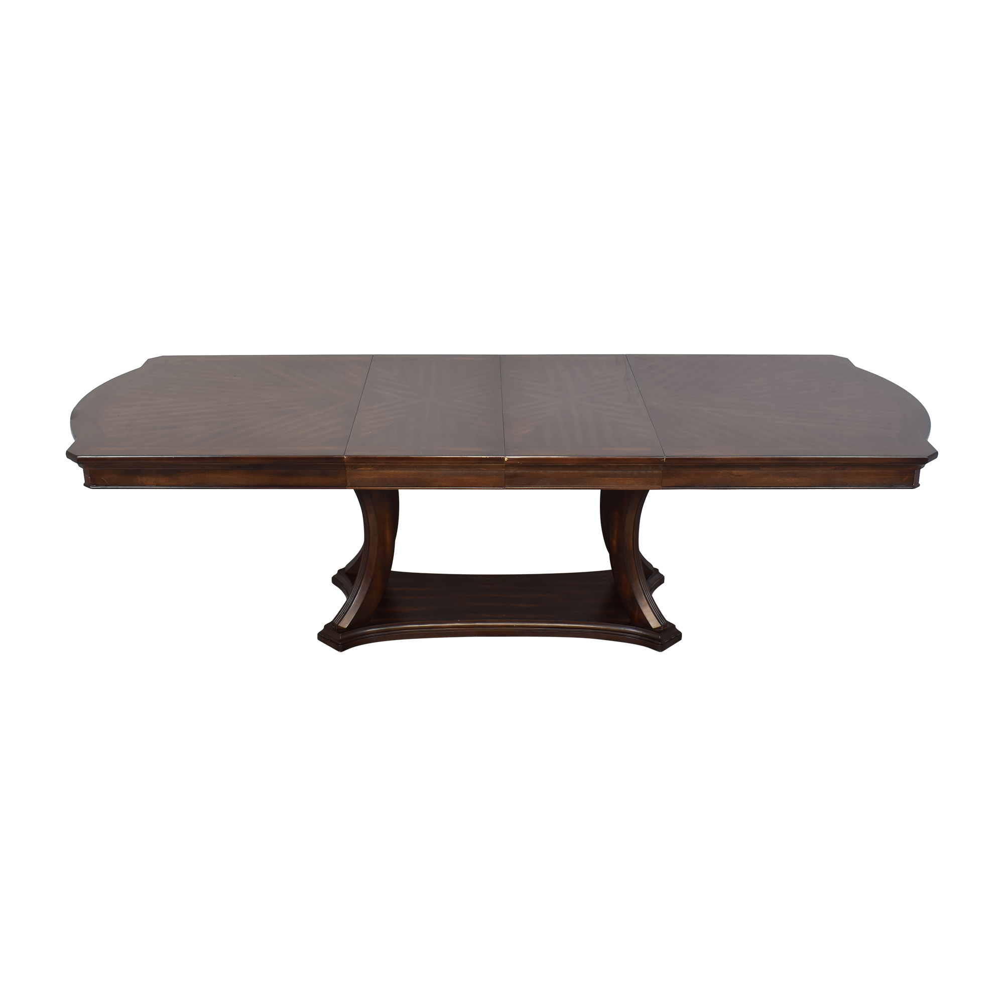 buy Pedestal Base Extendable Dining Table  Tables