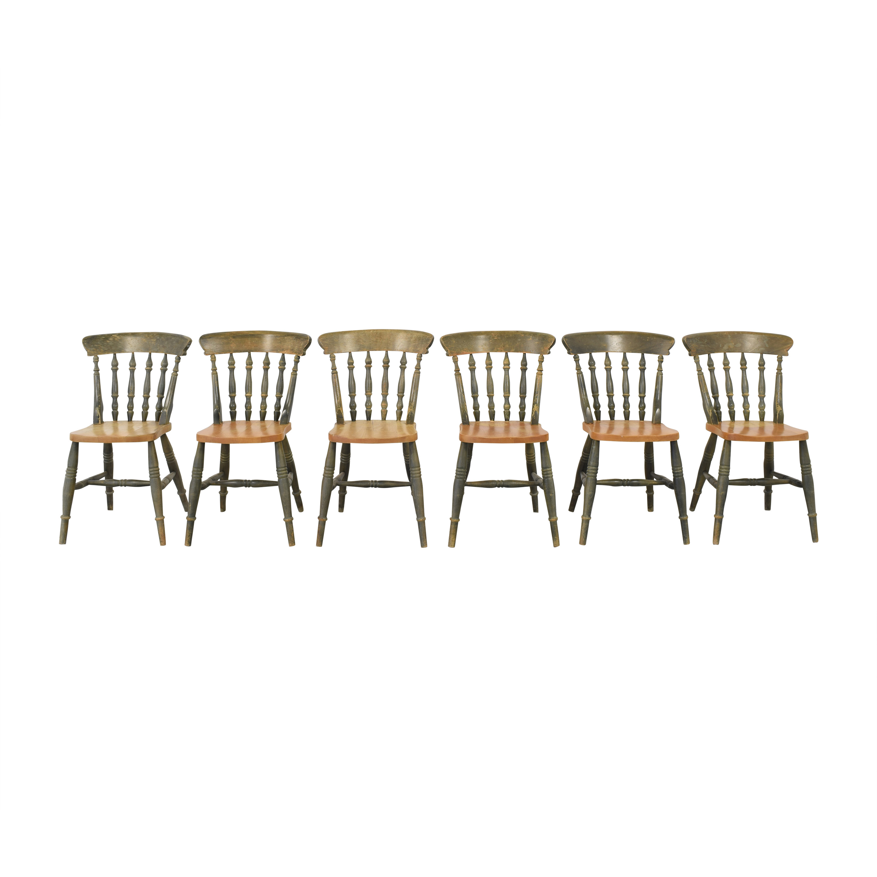 Two Tone Dining Chairs Chairs