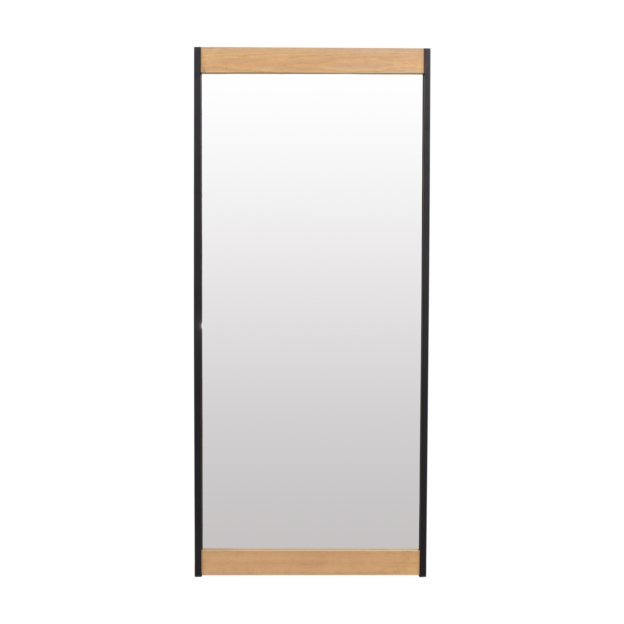 Wood Accented Floor Mirror coupon