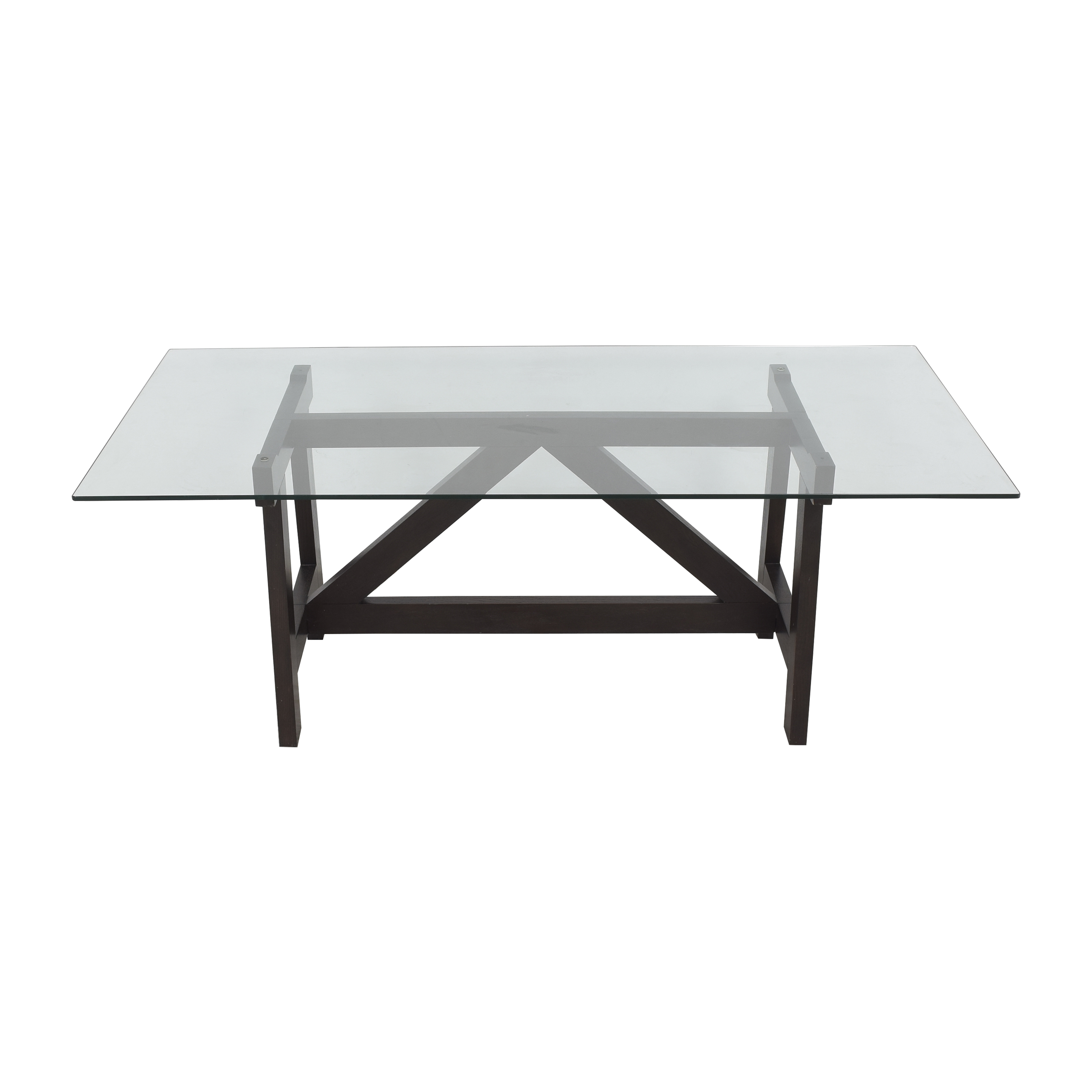 Glass Top Dining Table dimensions