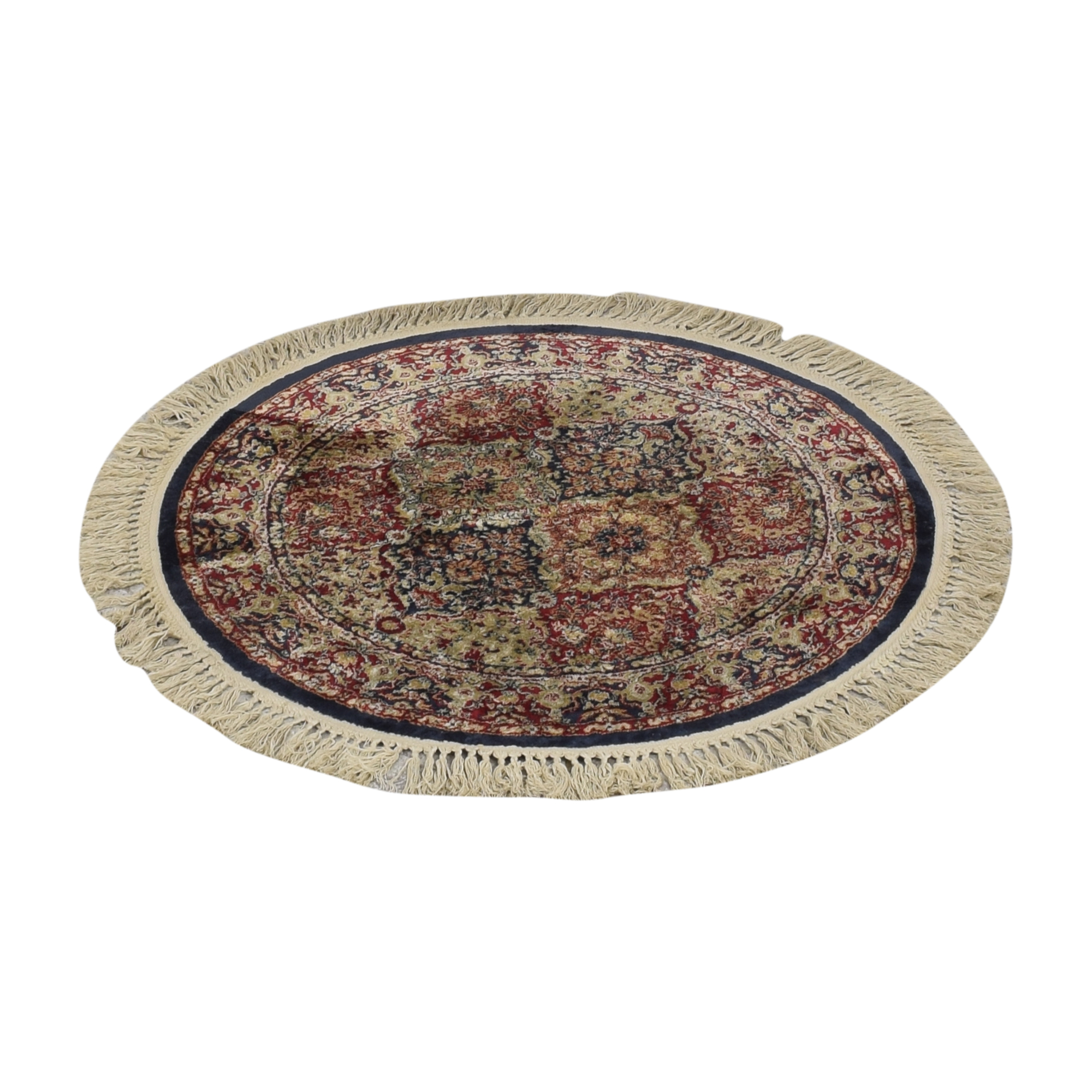 Tasseled Round Rug ct