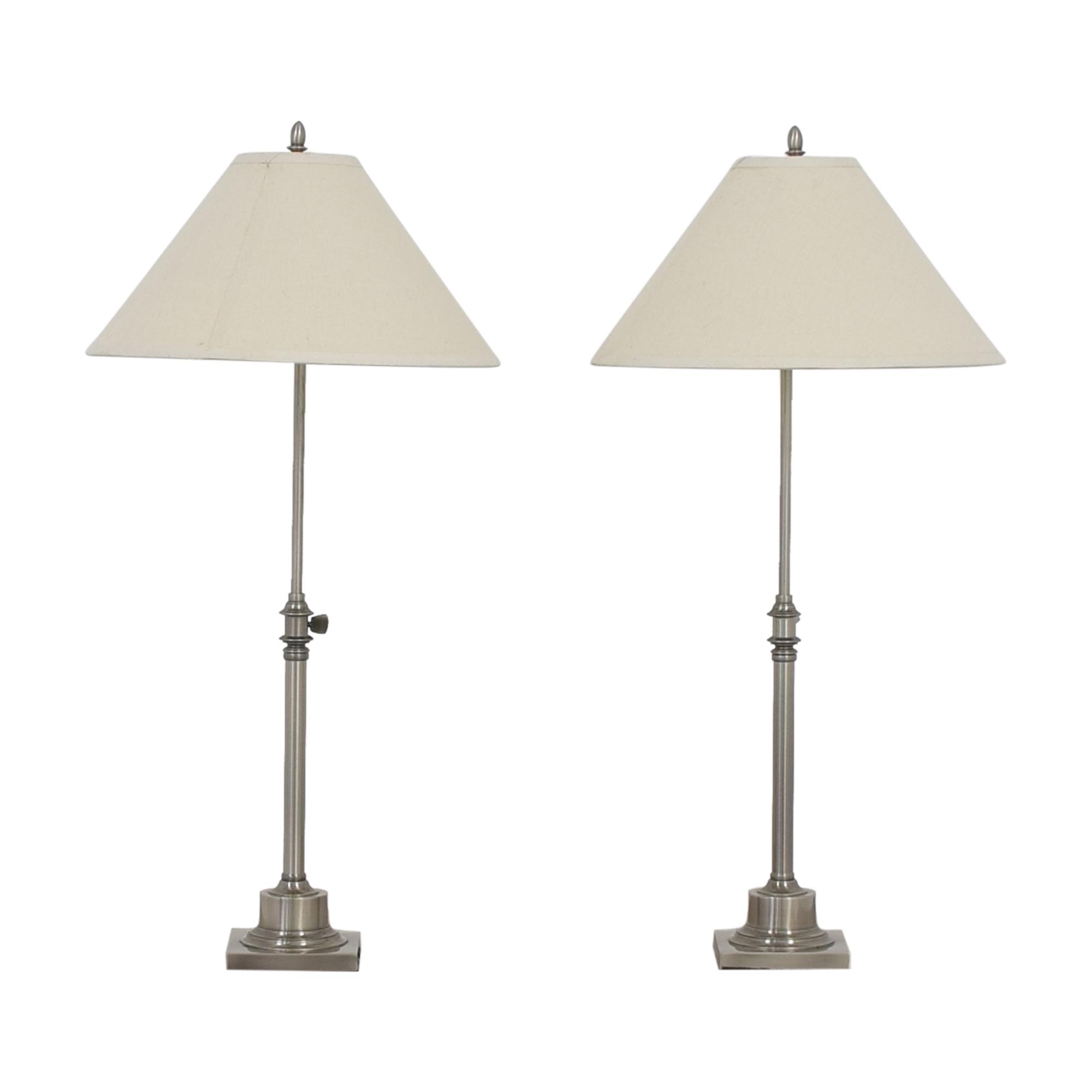 buy Restoration Hardware Adjustable Table Lamps Restoration Hardware Decor