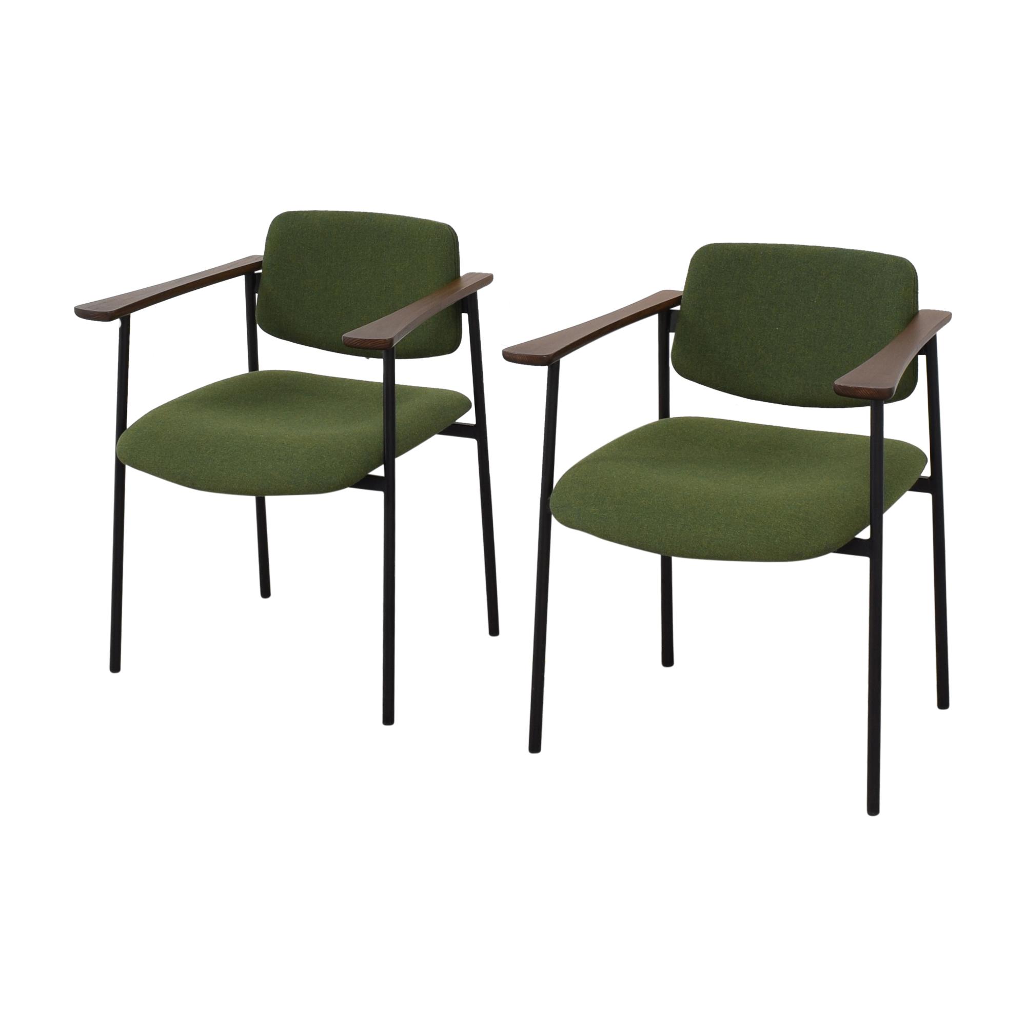 CB2 CB2 Warren Green Chairs nj