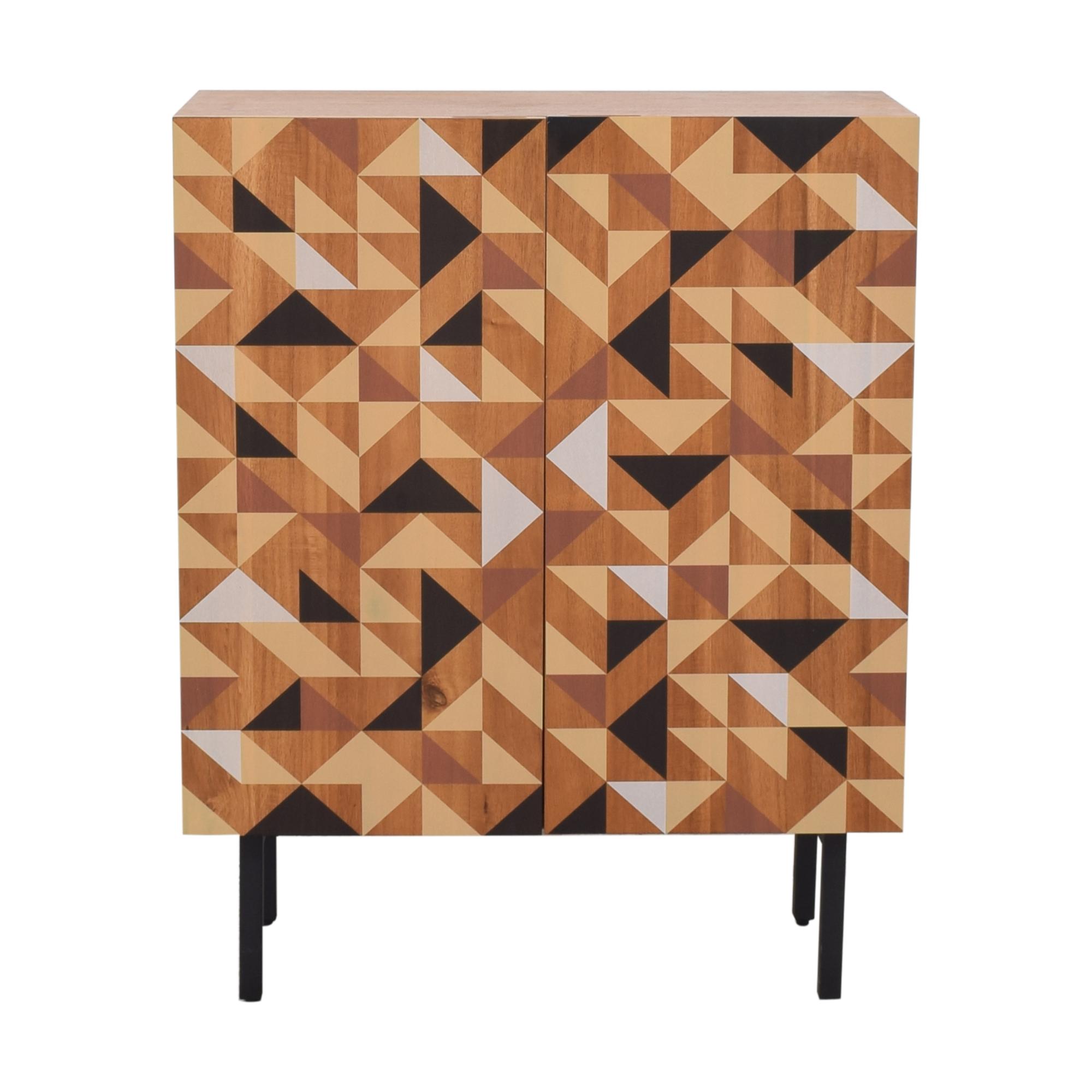 shop CB2 Triad Cabinet CB2 Cabinets & Sideboards
