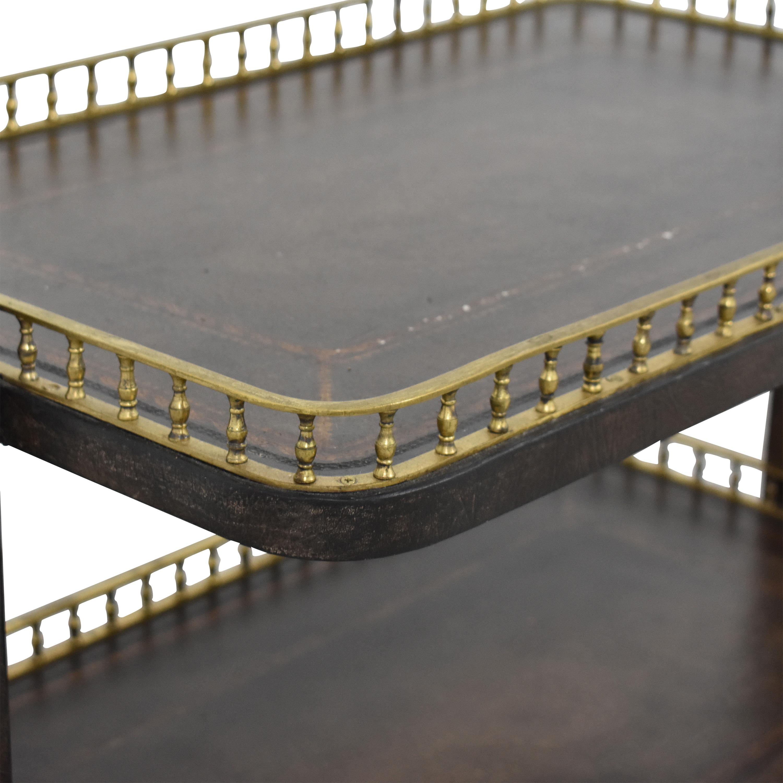 Custom Two Tier Table nyc