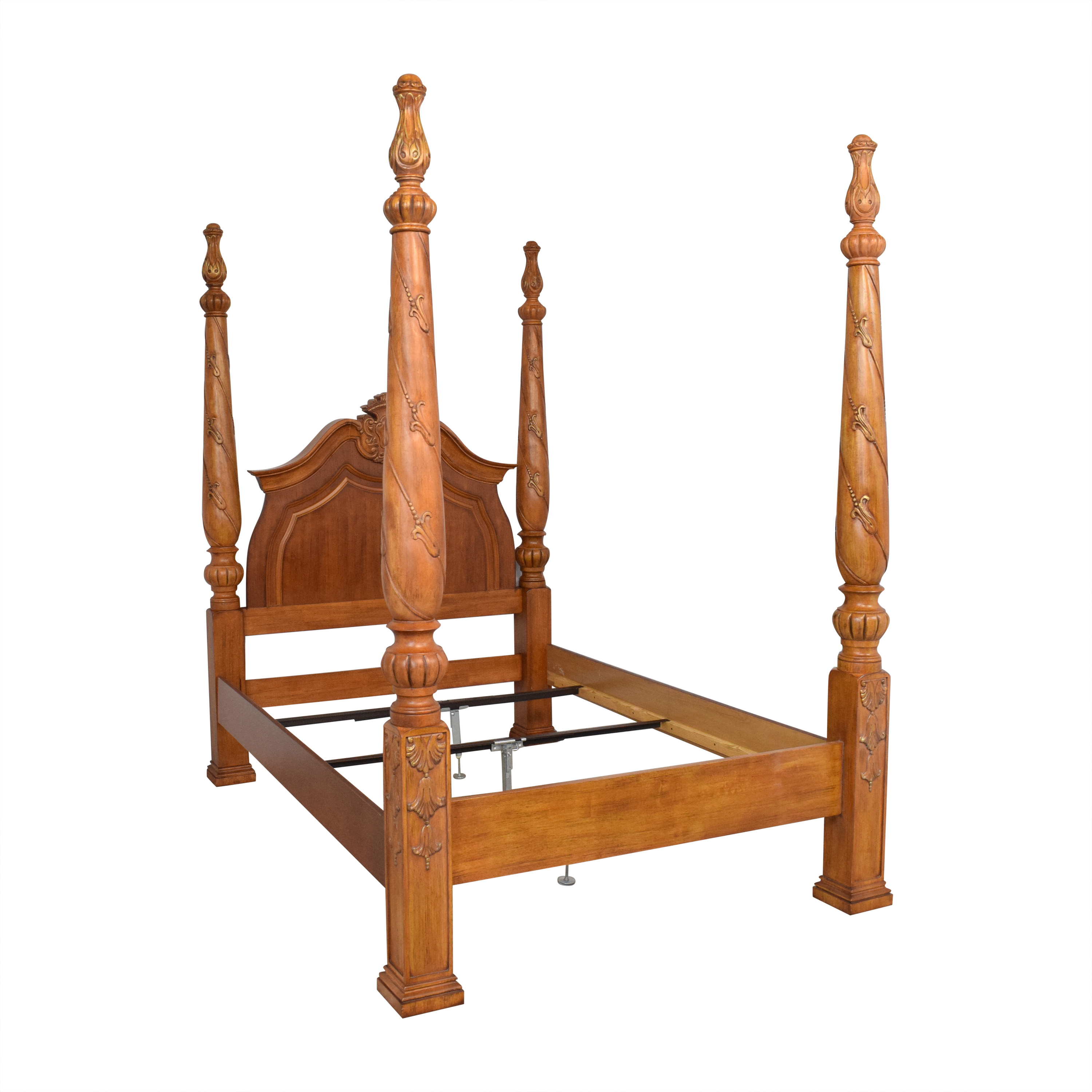 Four Poster Queen Bed second hand