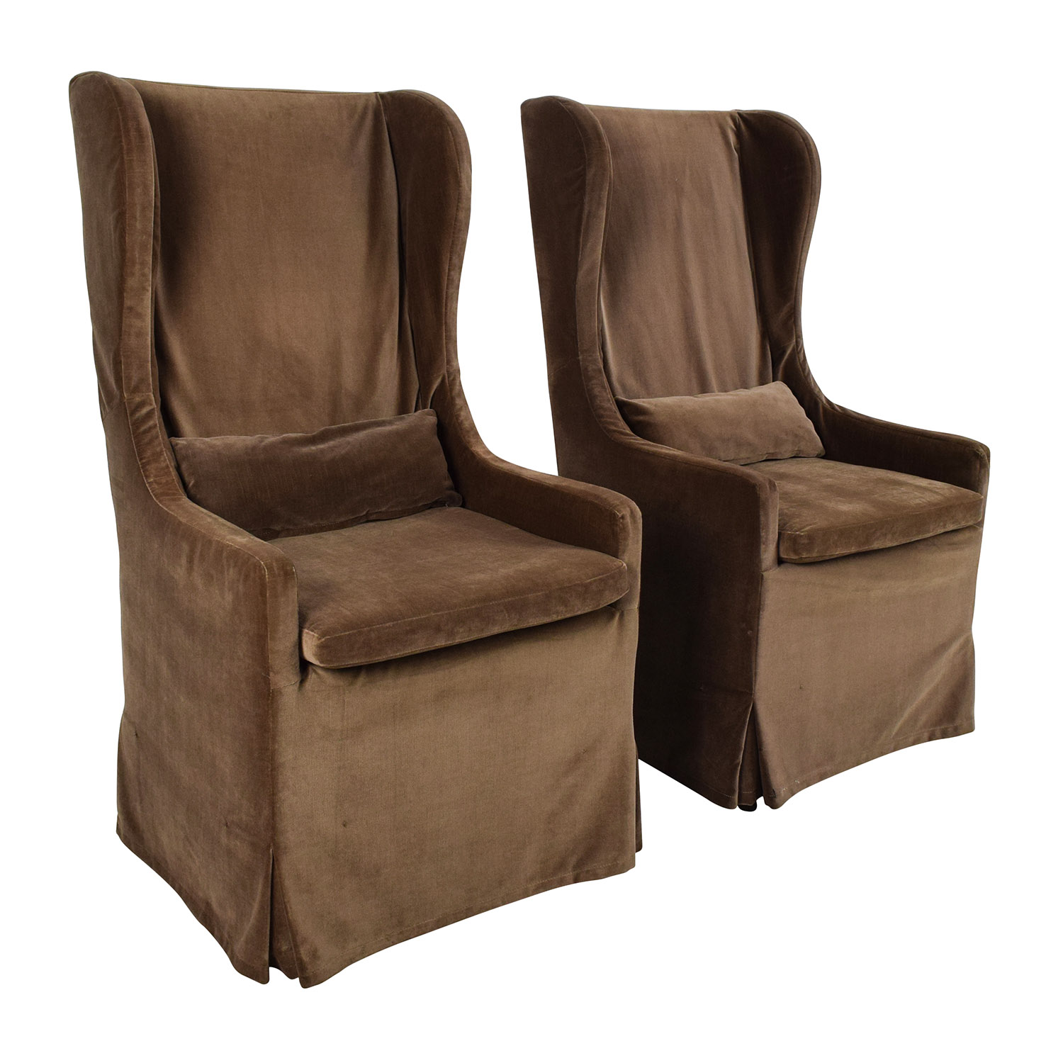 ... Buy Restoration Hardware Belgian Wingback Chair Pair Restoration  Hardware Chairs ...