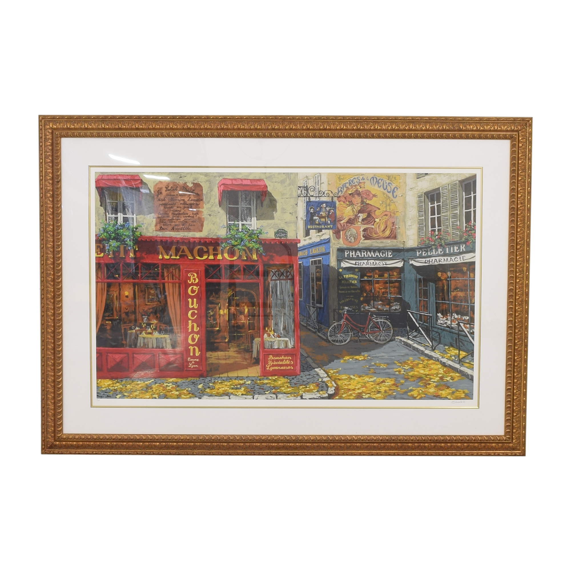 French Scene Wall Art Wall Art