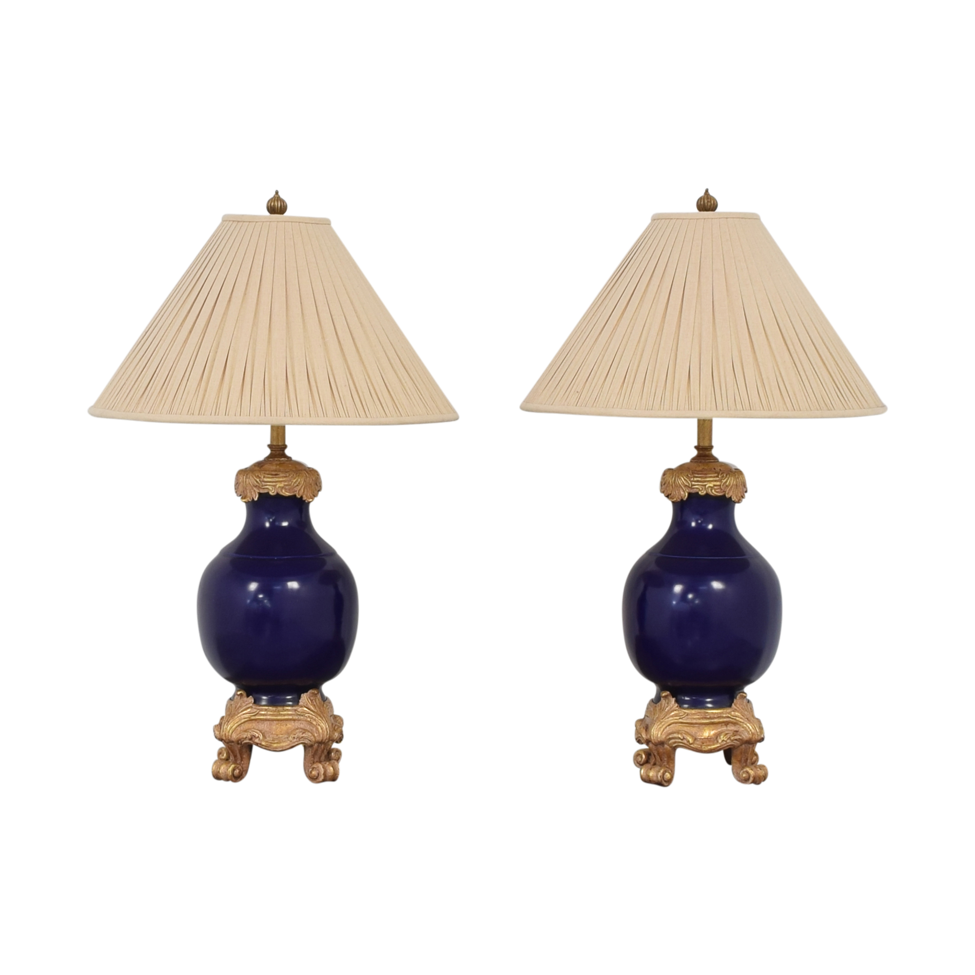 Urn Table Lamps / Decor