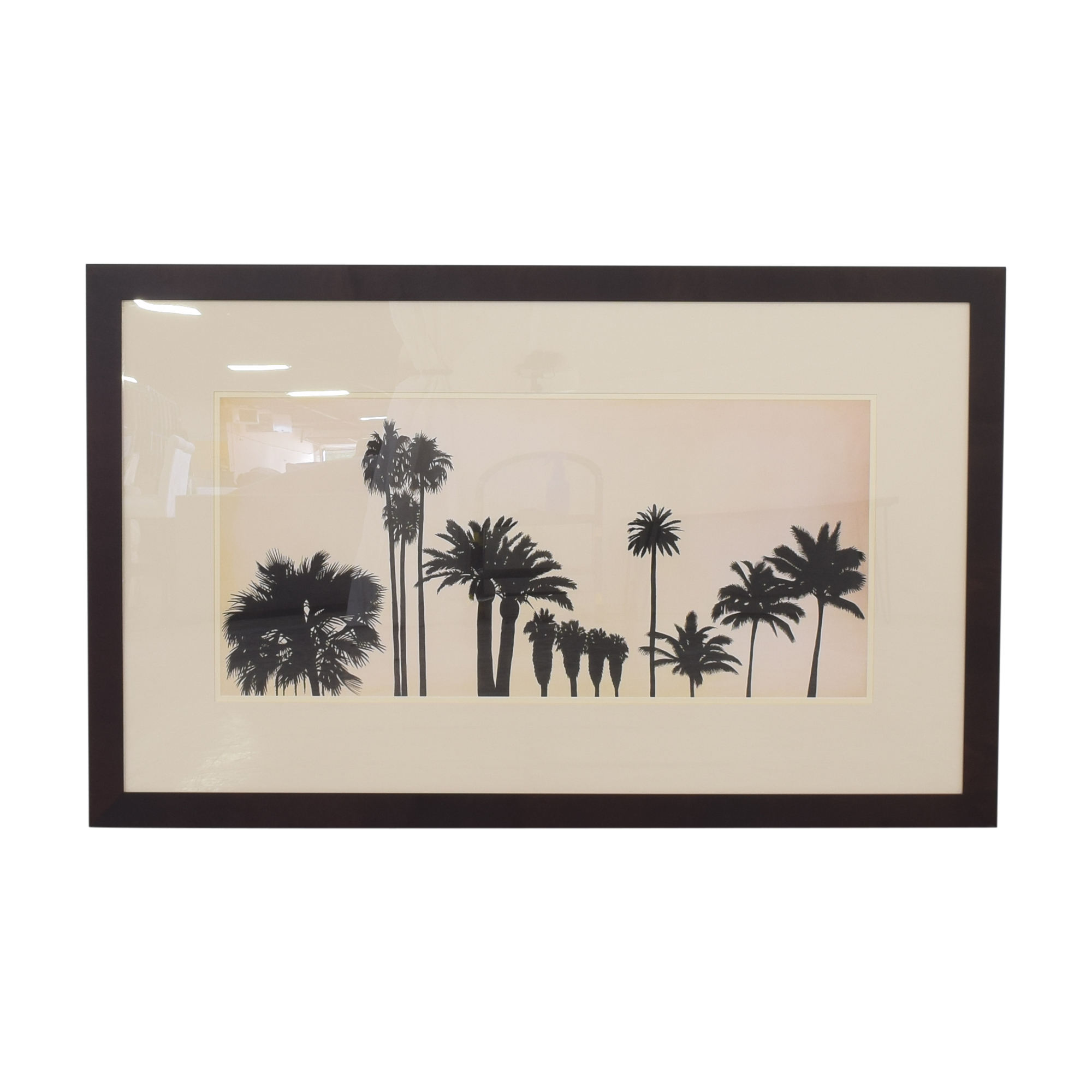 shop Balangier Palm Tree Landscape Artwork  Wall Art
