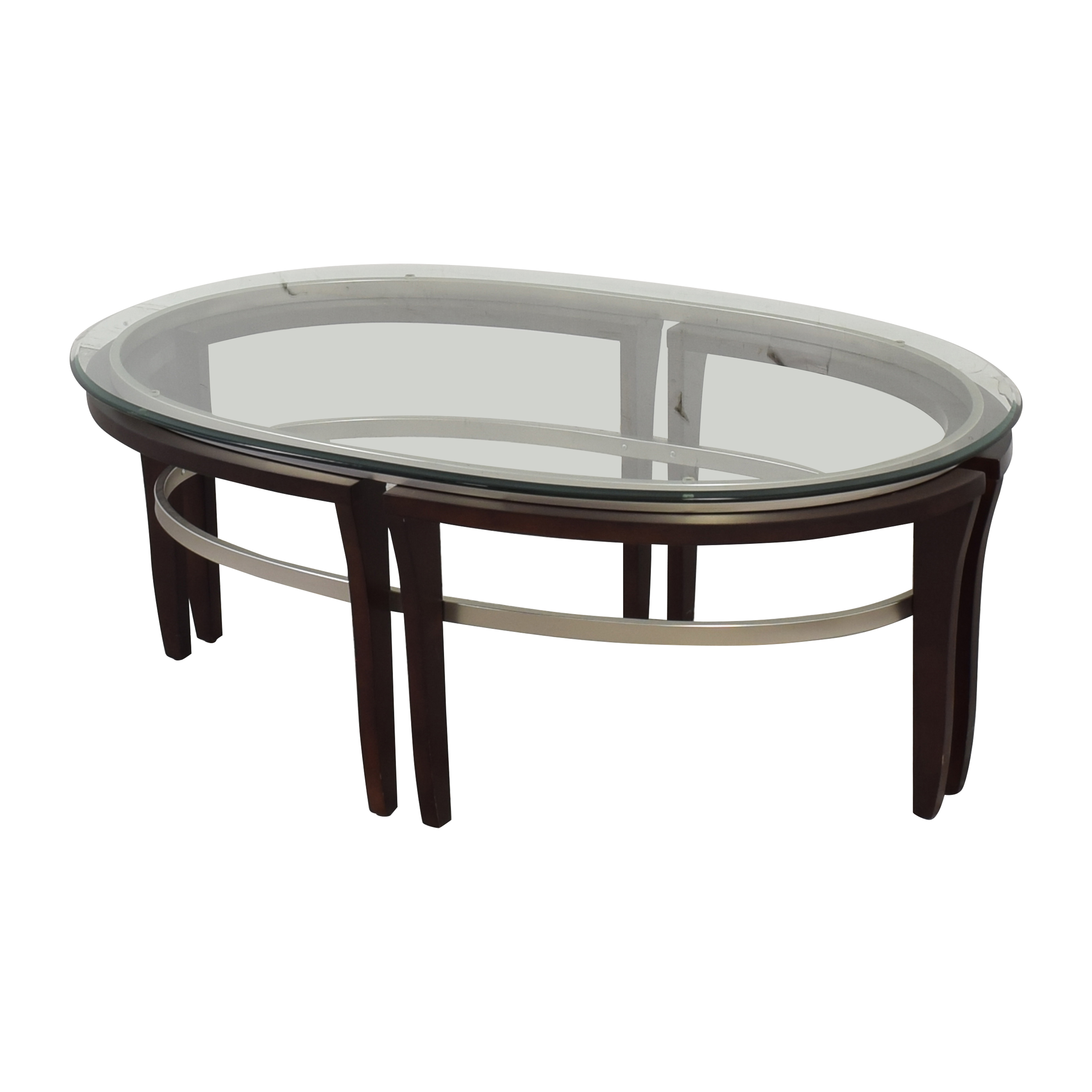 Glass Top Coffee Table ct