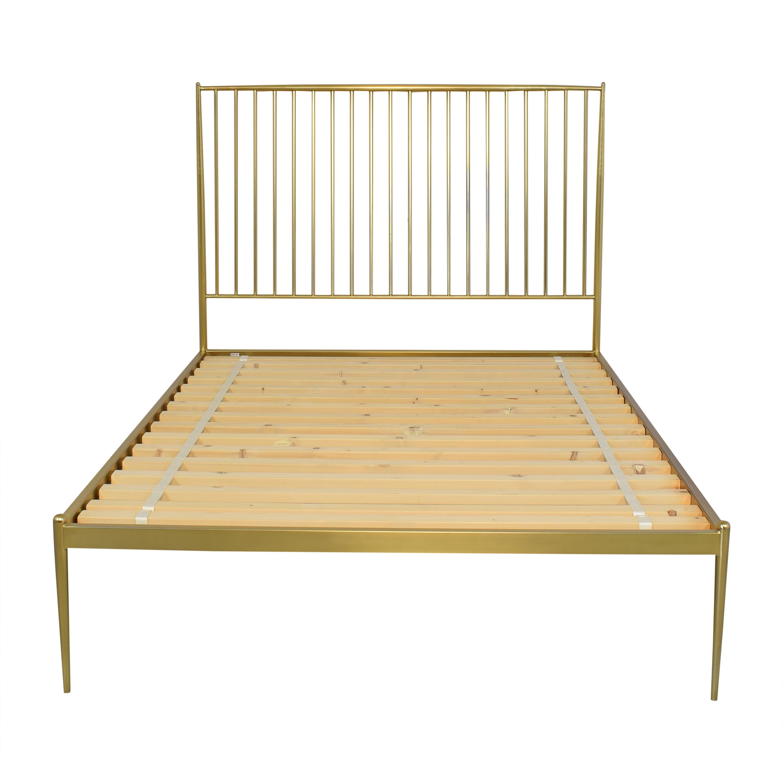 West Elm West Elm Stella Metal Full Bed ct