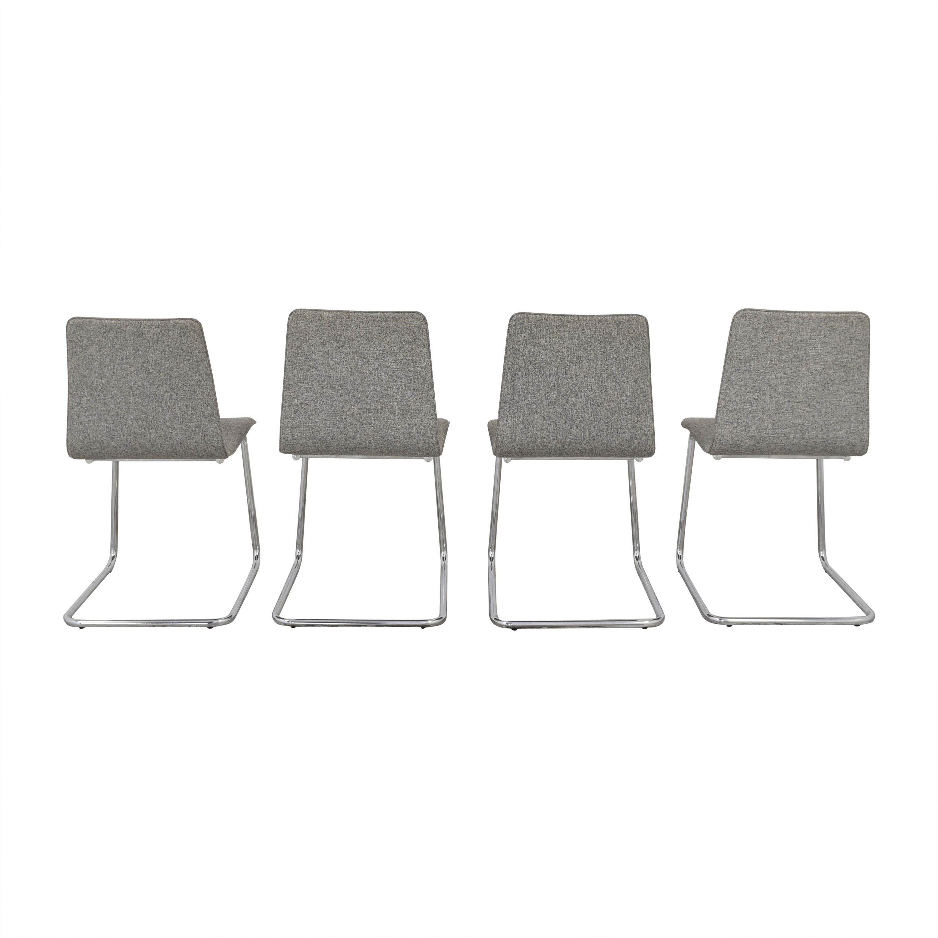 shop CB2 Pony Tweed Chairs CB2 Accent Chairs