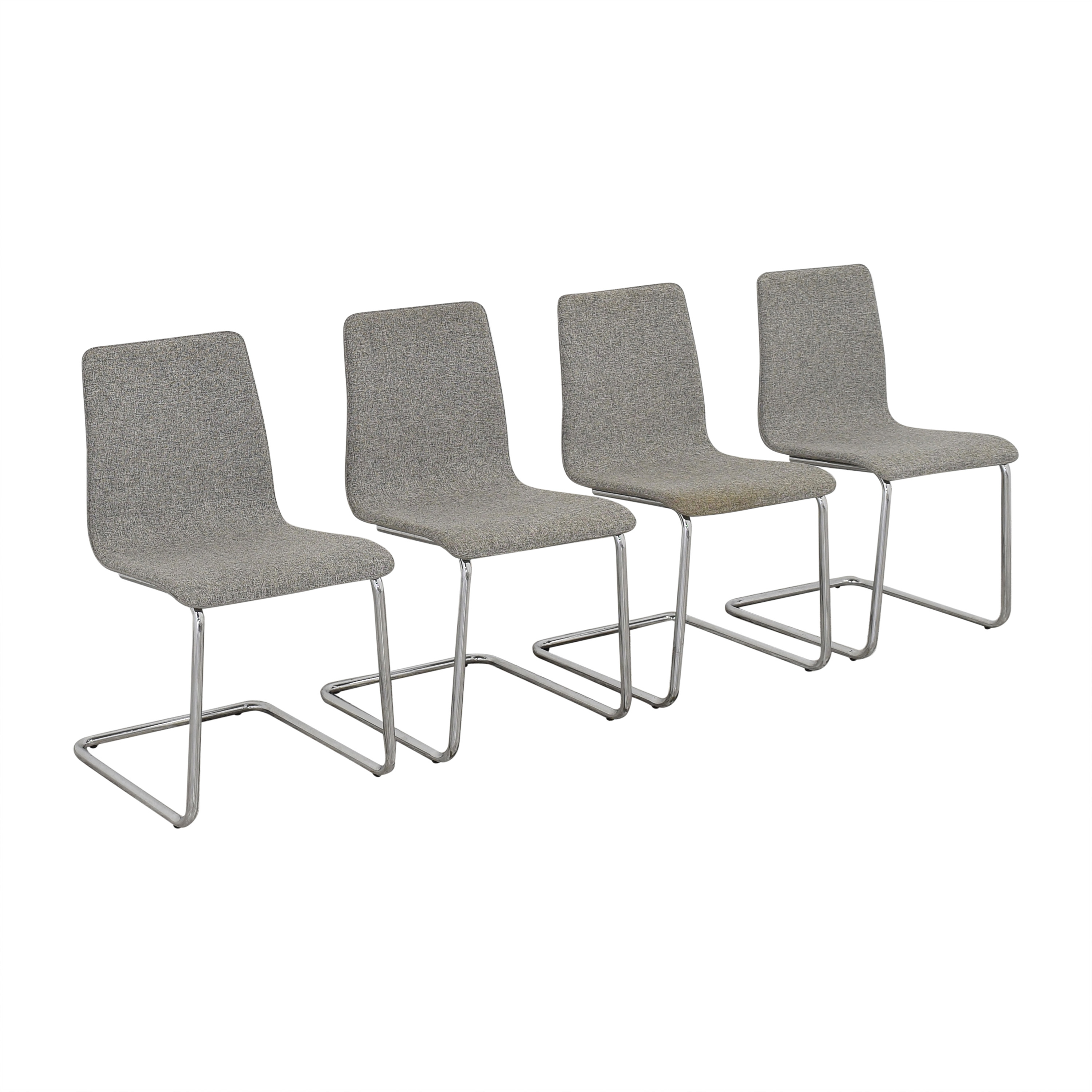 CB2 CB2 Pony Tweed Chairs Accent Chairs