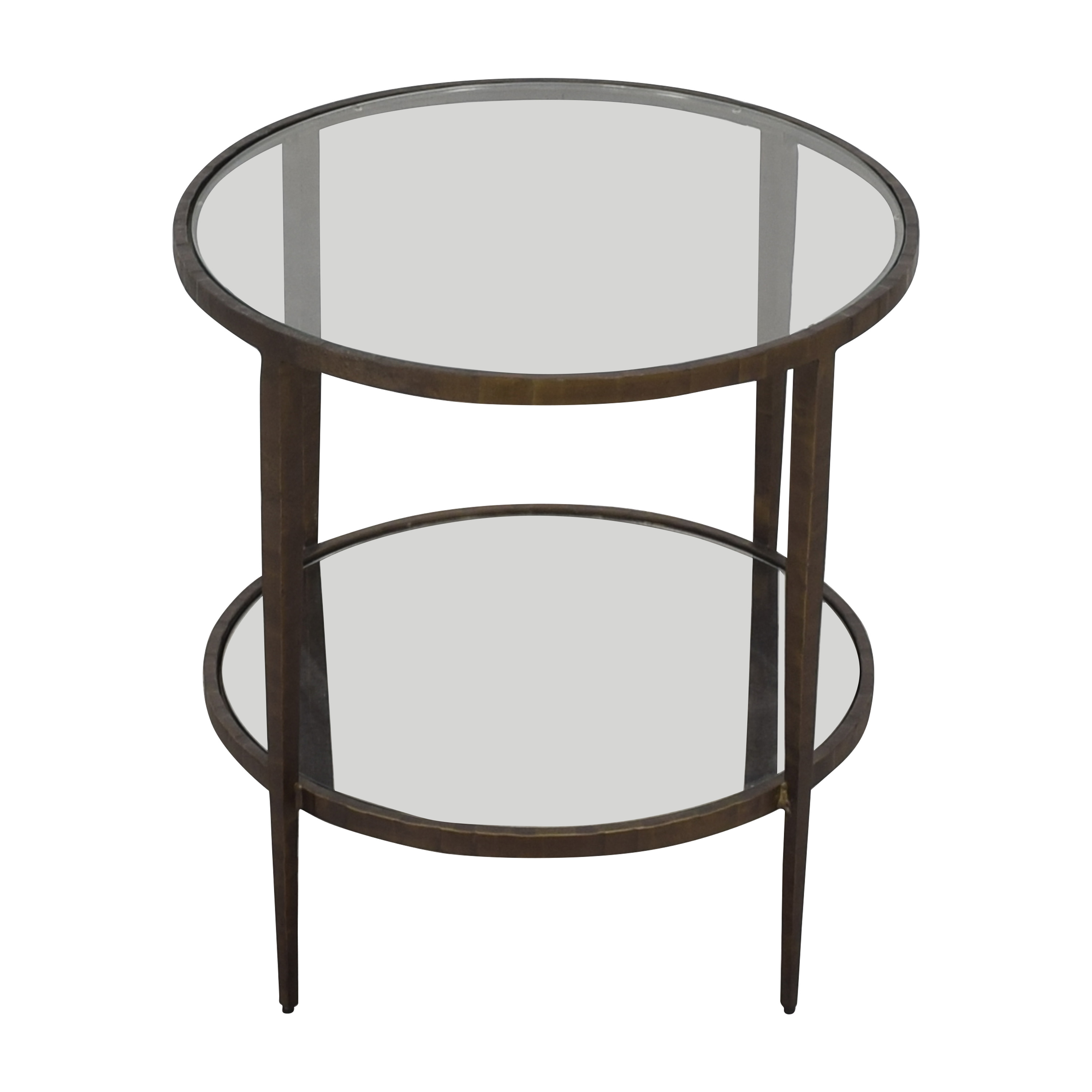 Crate & Barrel Clairemont Side Table sale