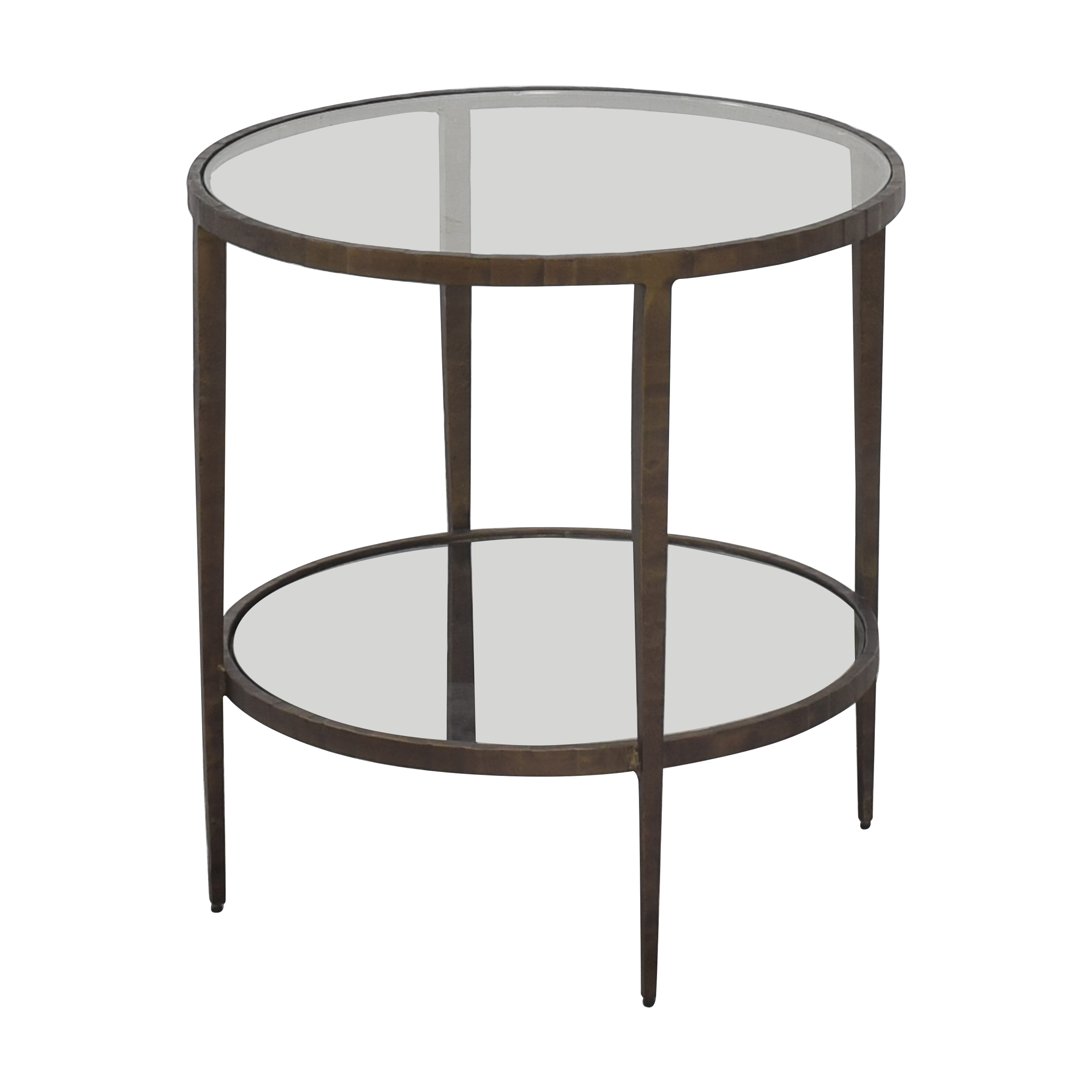 shop Crate & Barrel Clairemont Side Table Crate & Barrel Tables