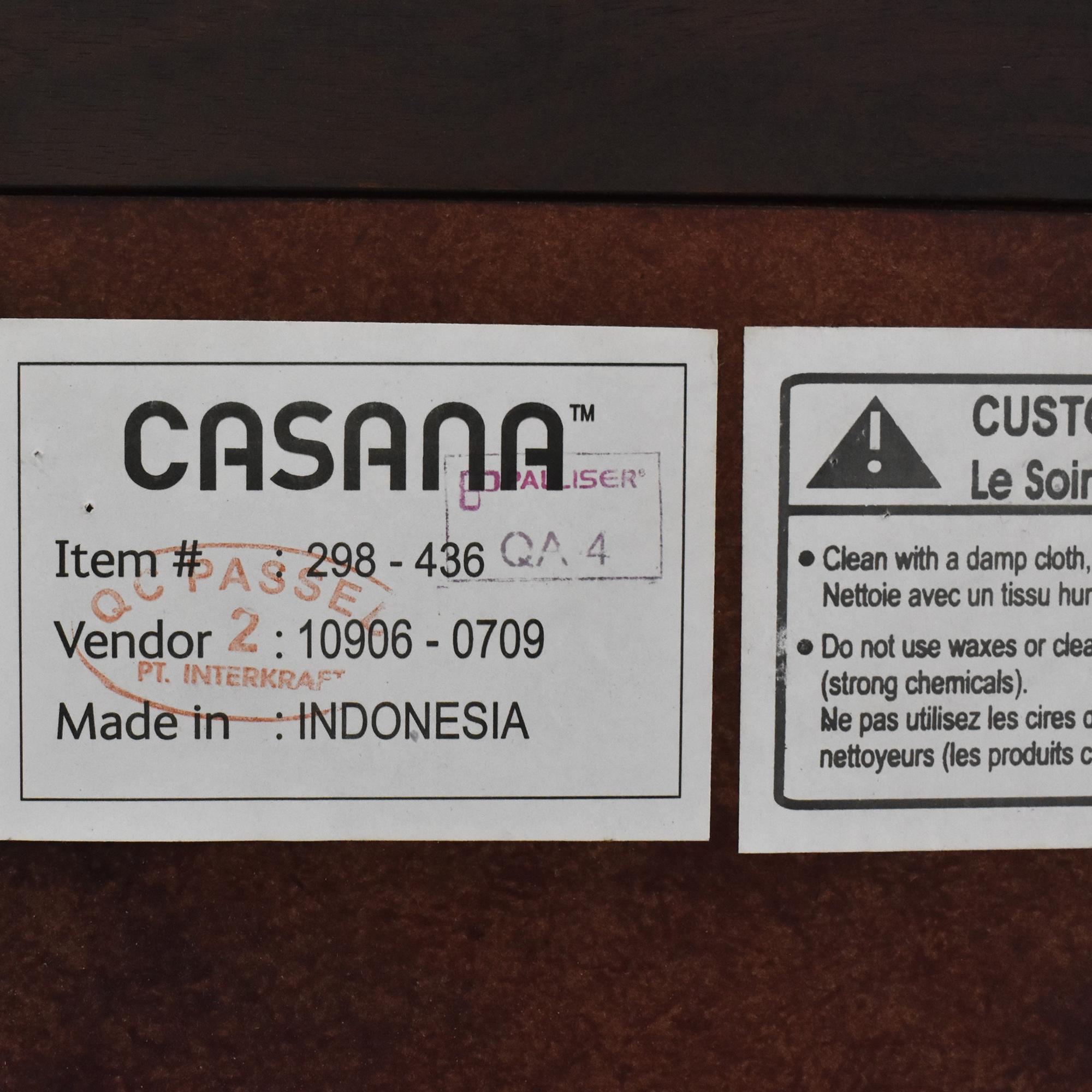 Casana Furniture Casana Rodea Nine Drawer Dresser