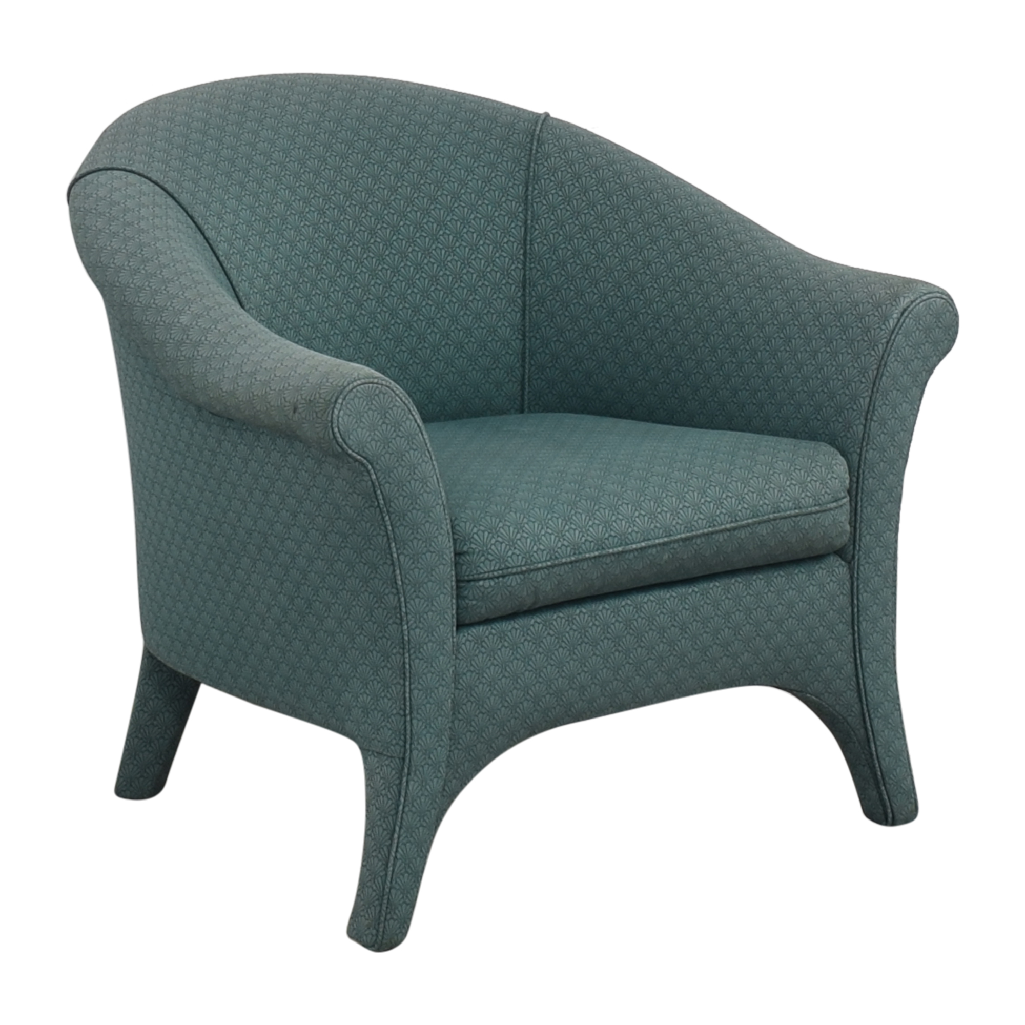 shop Crate & Barrel Upholstered Armchair Crate & Barrel Accent Chairs