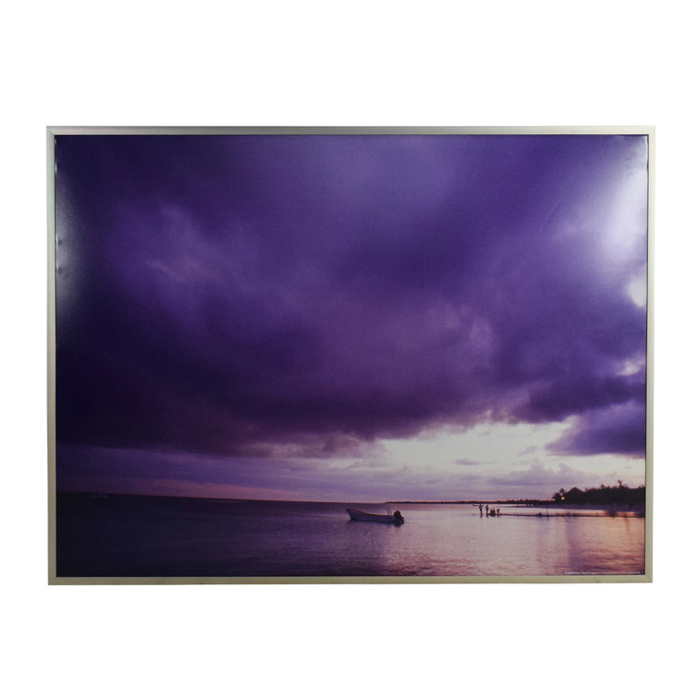 buy Z Gallerie Purple Sky Picture Z Gallerie