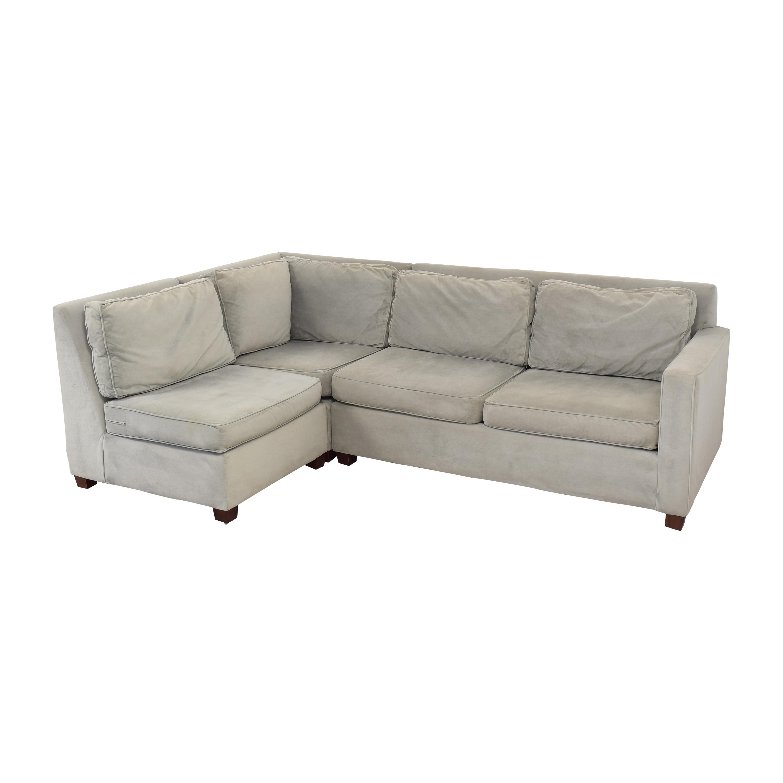 West Elm West Elm Henry Sectional Sofa discount