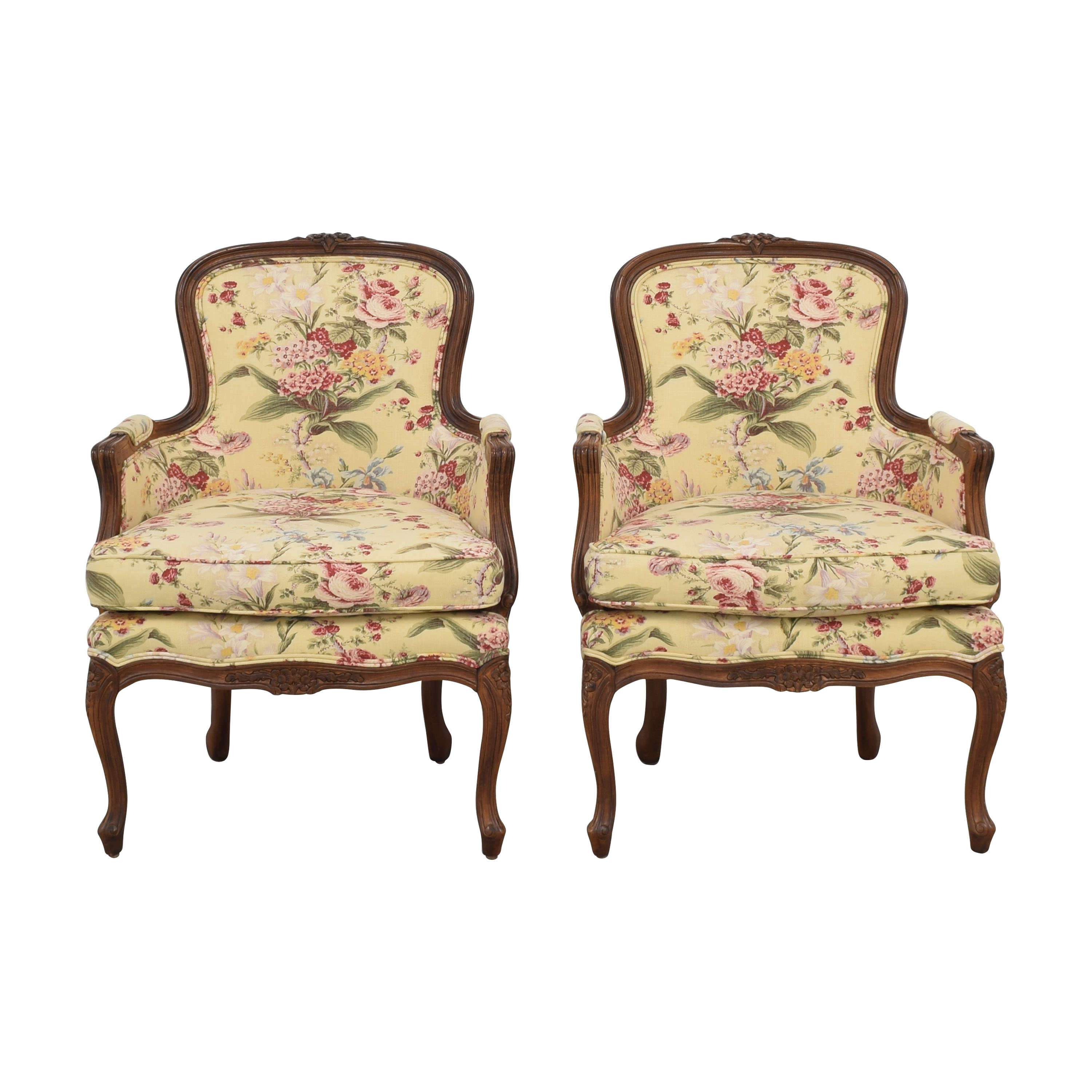buy Bergere-Style Uphostered Chairs