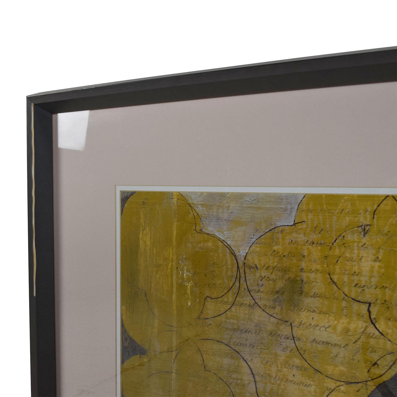 88% OFF - Crate and Barrel Crate & Barrel Marrakesh Print ...