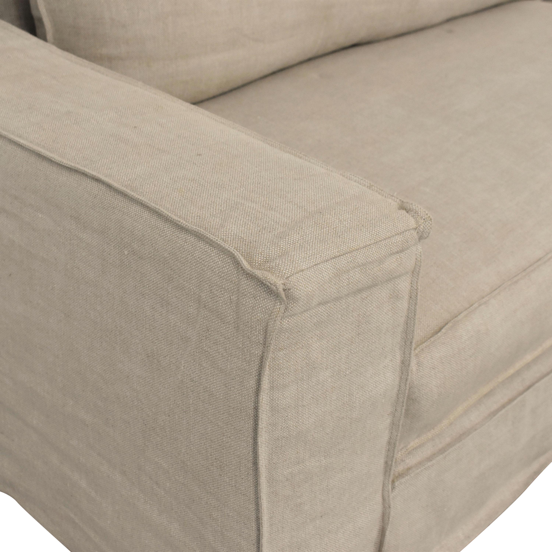 buy Restoration Hardware Restoration Hardware Capri Slipcovered Sofa online