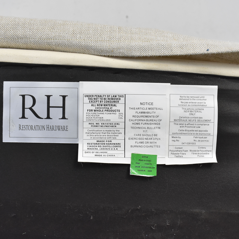 Restoration Hardware Capri Slipcovered Sofa Restoration Hardware