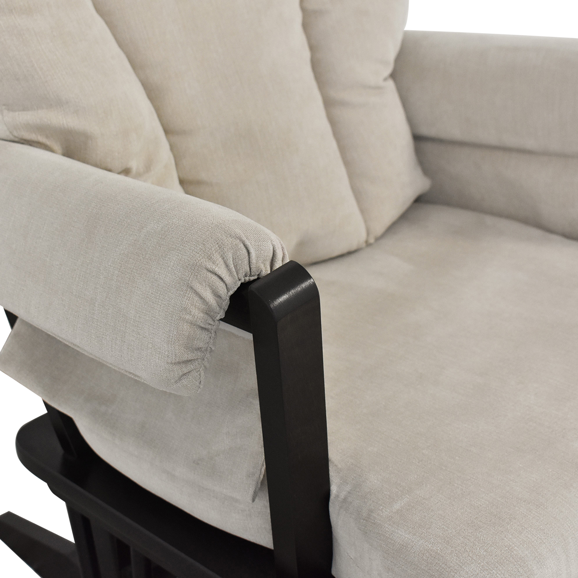 Dutailier Dutalier Rocking Chair and Ottoman dimensions