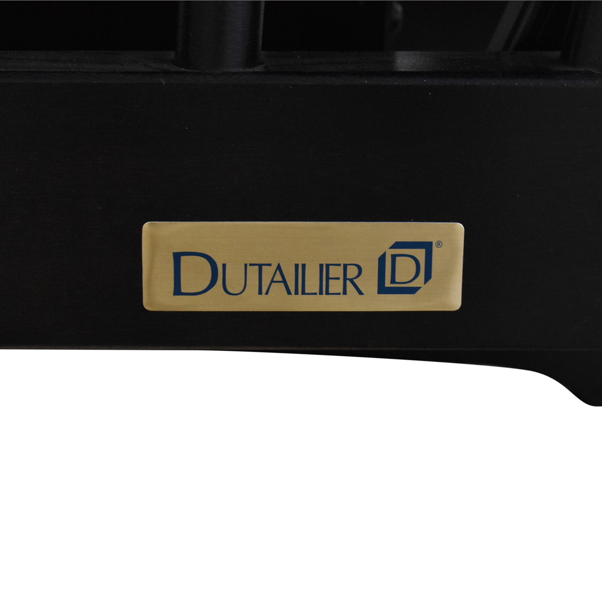 Dutailier Dutalier Rocking Chair and Ottoman beige & black