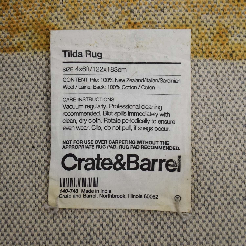 ... Crate And Barrel Crate U0026 Barrel Wool Tilda Rug Rugs