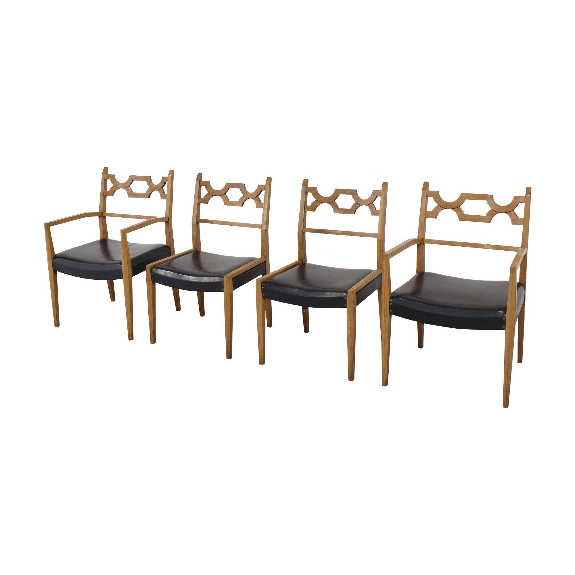 John Stuart Inc. John Stuart Mid-Century Dining Chairs second hand